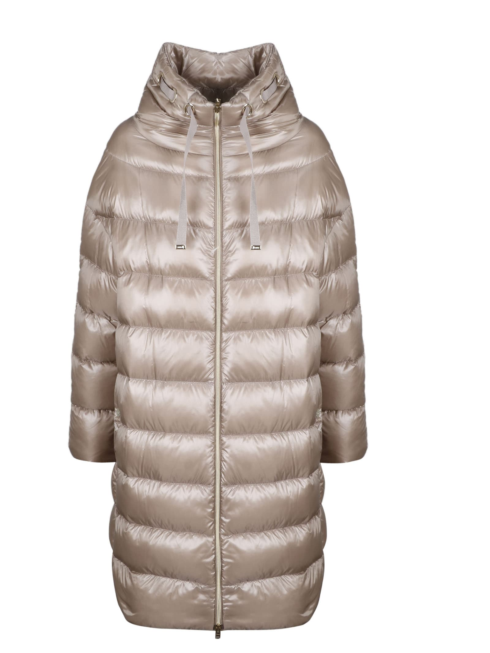 Herno Long Quilted Down Jacket