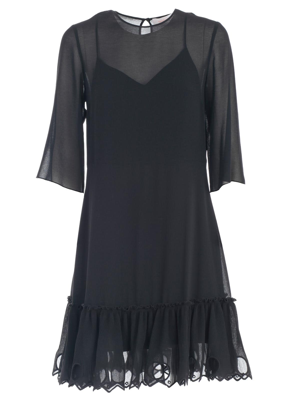 See by Chloé Dress 3 & 4s Bottom Rouches