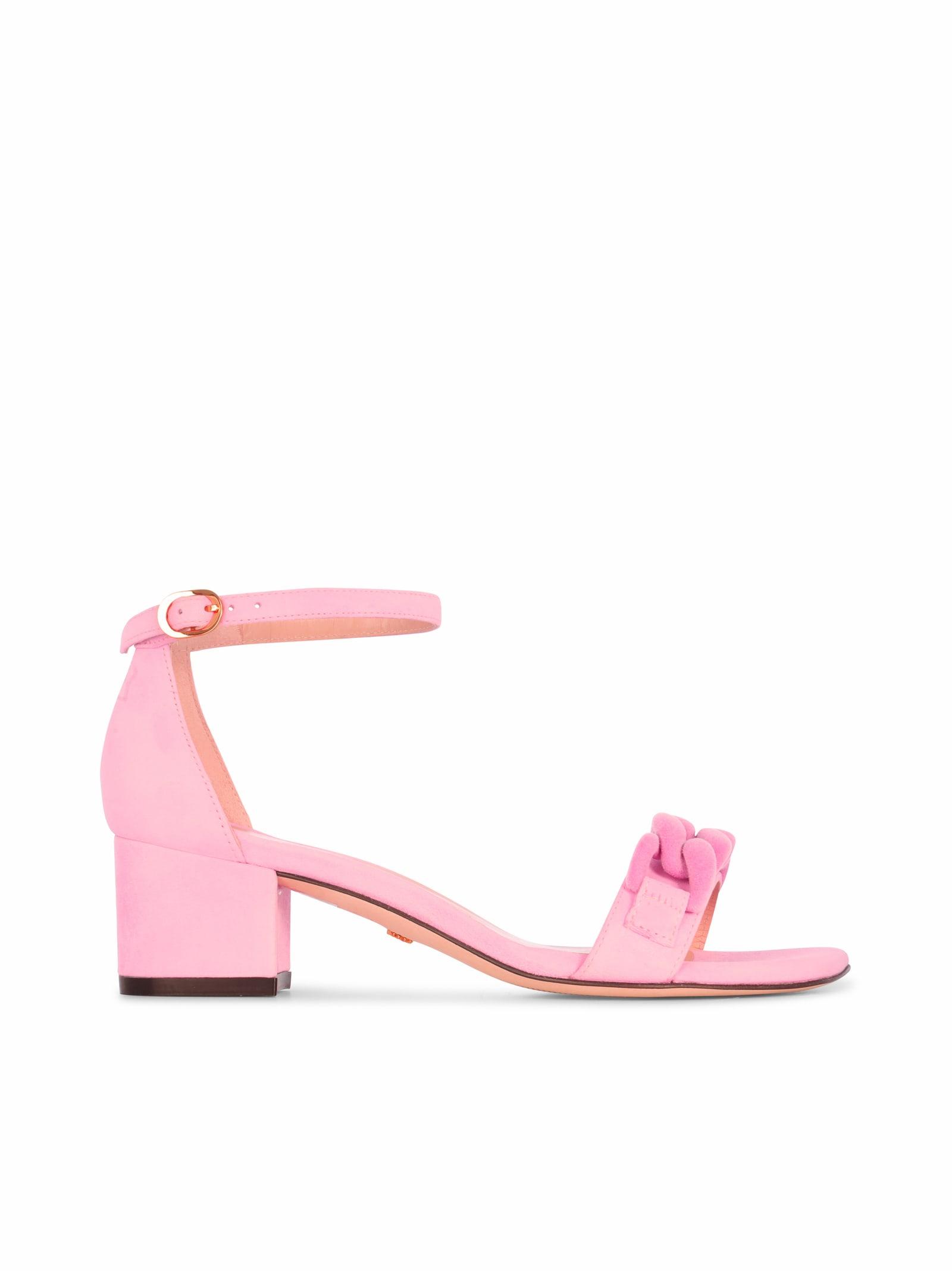 Buy Stuart Weitzman Amelina Block 50 online, shop Stuart Weitzman shoes with free shipping