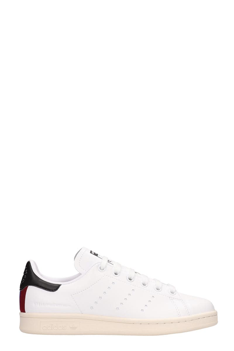 newest collection d9cfb e7f13 Adidas by Stella McCartney White Leather Stan Smith Sneakers Stella  Mccartney Collaboration