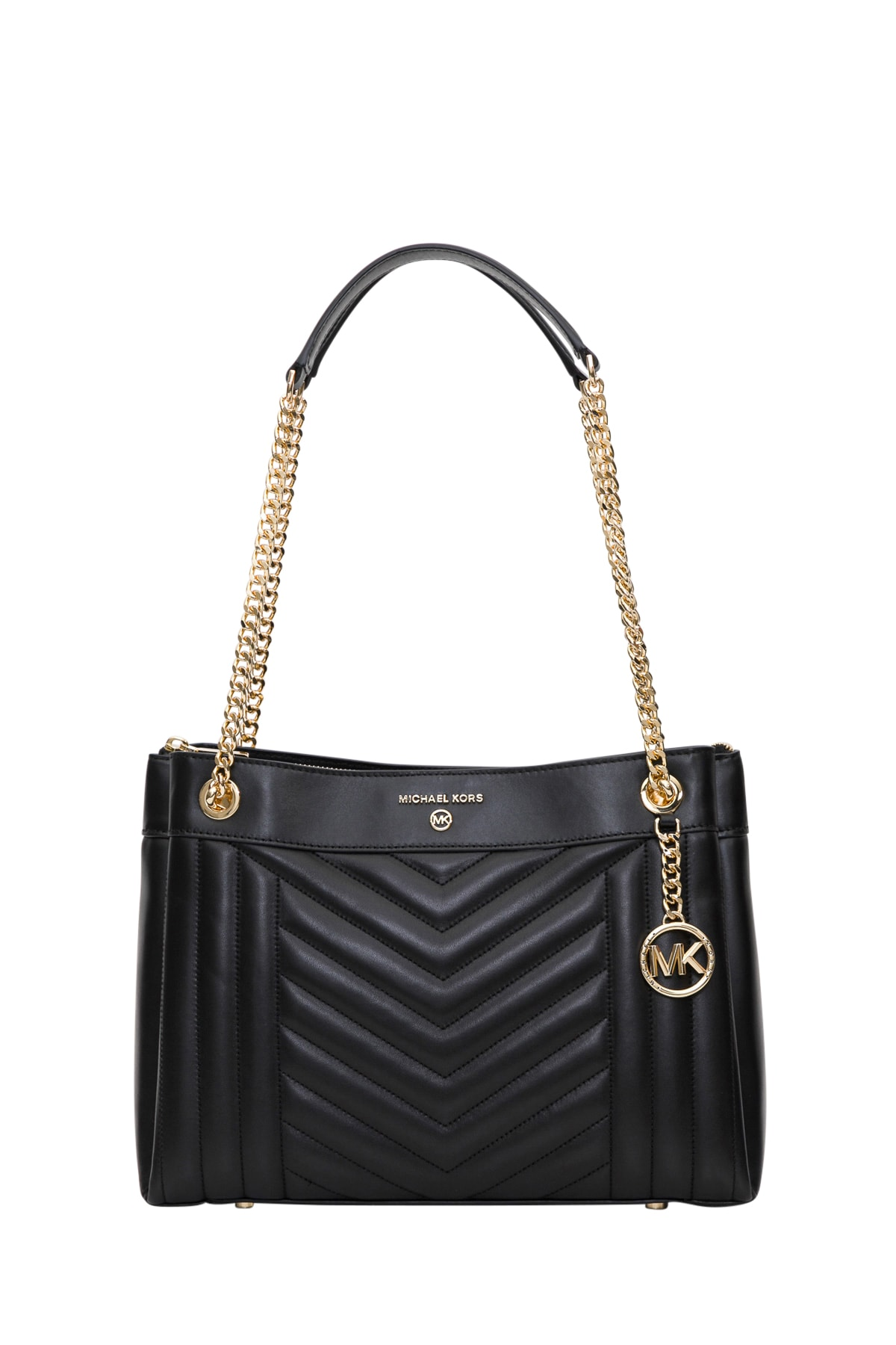 Best price on the market at italist   MICHAEL Michael Kors MICHAEL Michael Kors Susan Medium Quilted Leather Shoulder Bag