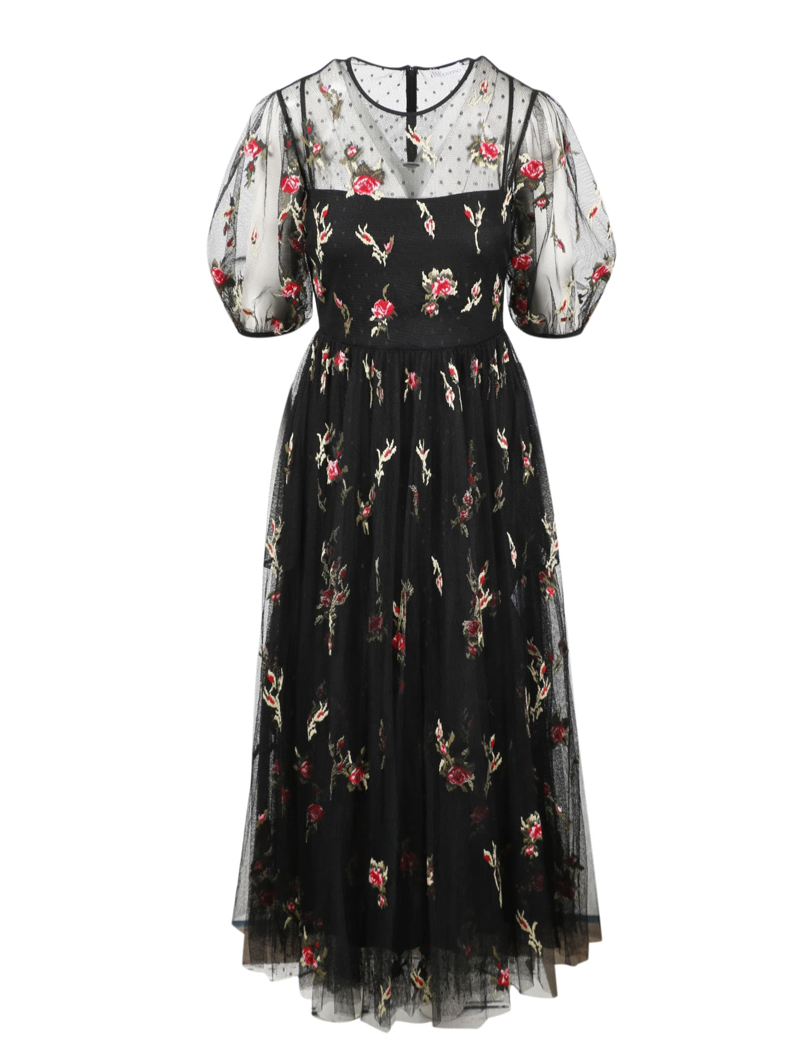 Buy RED Valentino Abito online, shop RED Valentino with free shipping