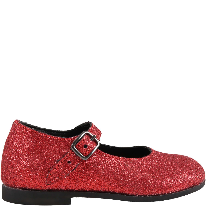 Red Ballet Flats For Girl