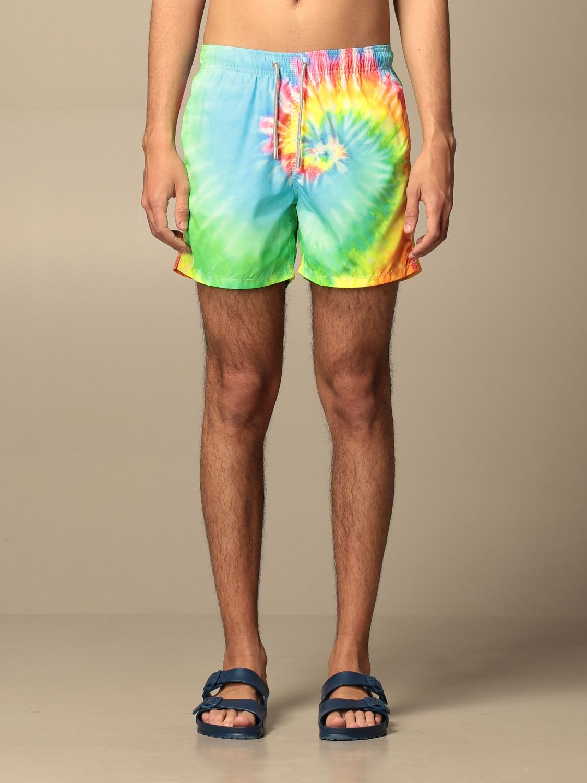Mc2 Saint Barth Swimsuit Mc2 Saint Barth Printed Swim Shorts