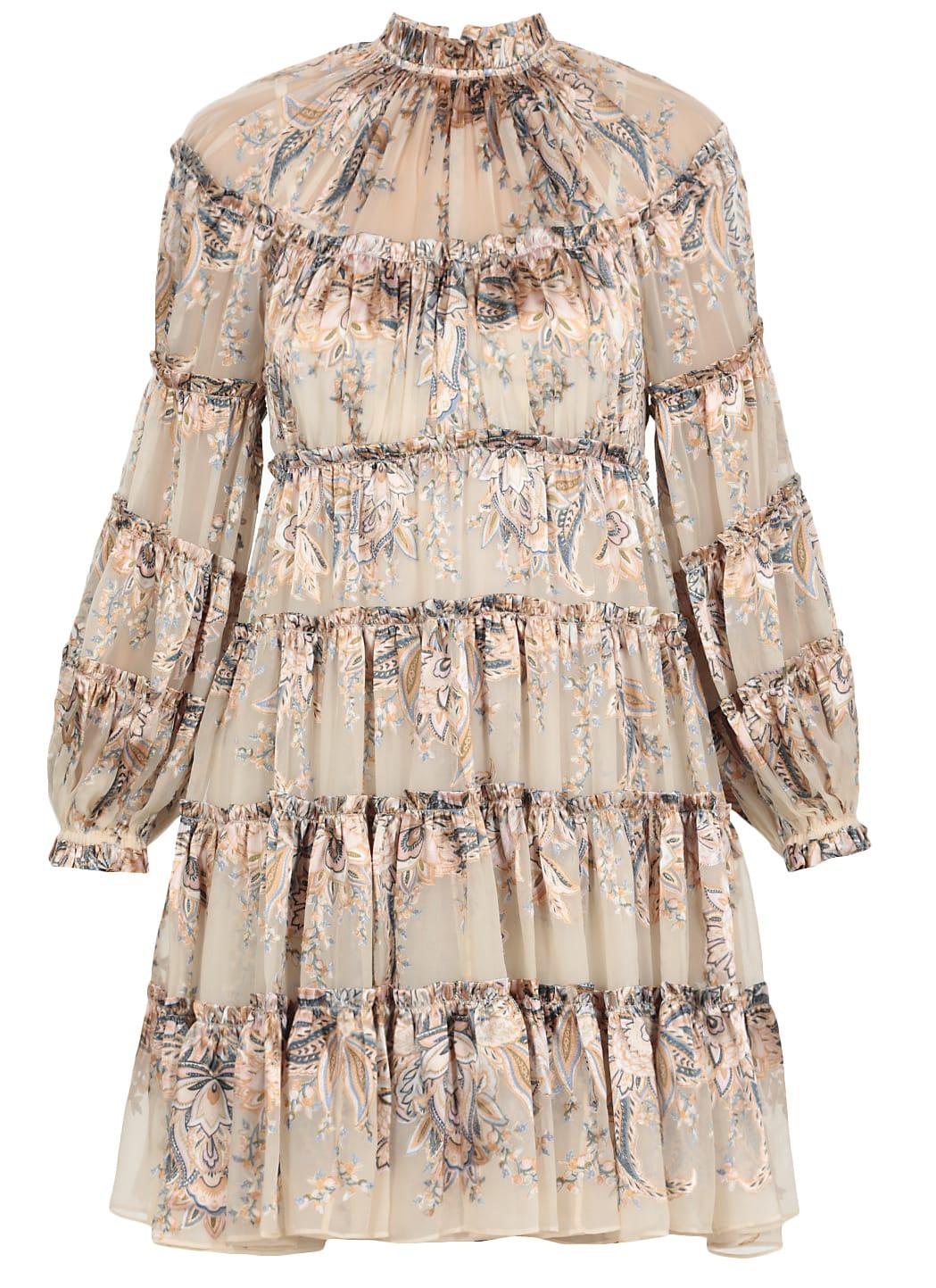 Zimmermann Flounces Dress