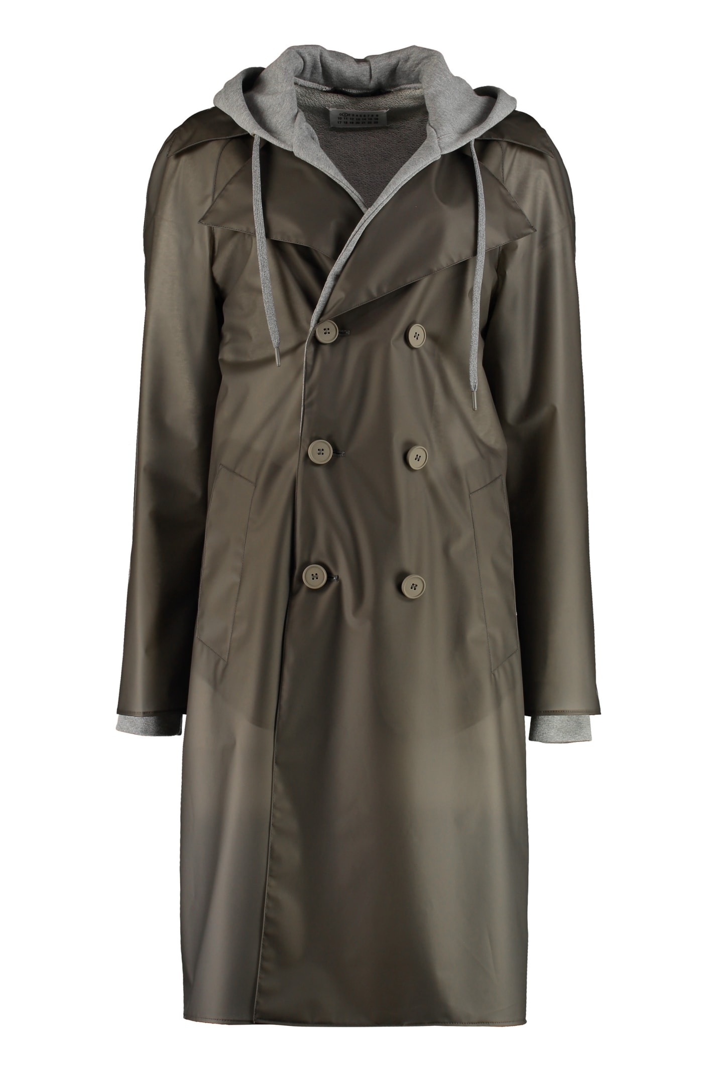 Maison Margiela Trench Coat With Inner Fleece Layer