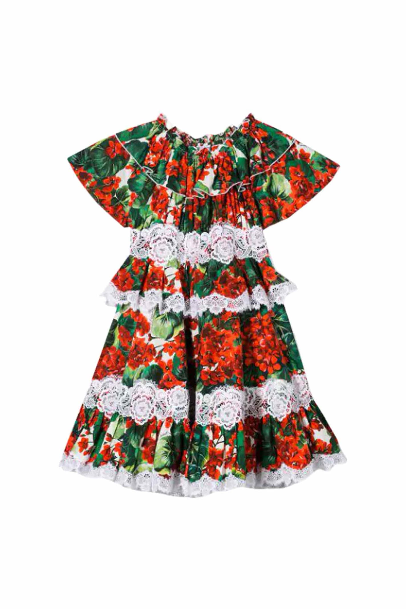 Dolce & Gabbana Cotton Portofino Dress