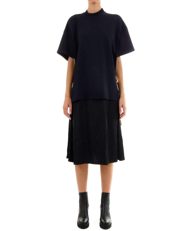Buy Plan C Black Midi Dress online, shop Plan C with free shipping