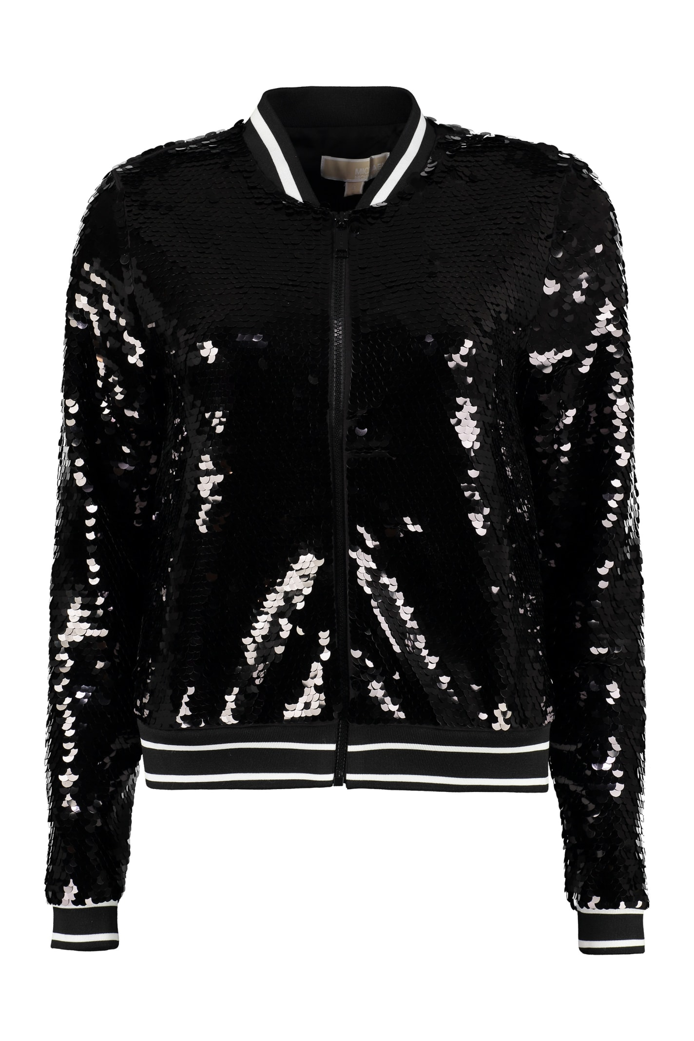MICHAEL Michael Kors Sequined Track Jacket