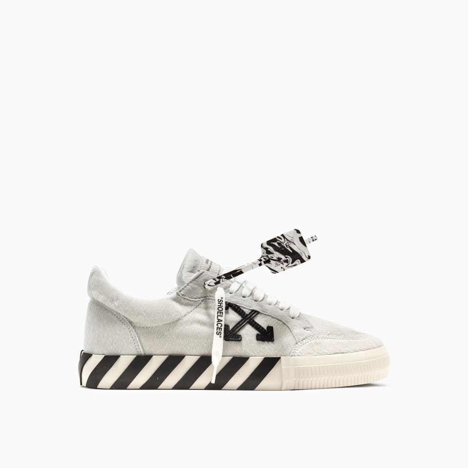 Off-White PONY LOW VULCANIZED SNEAKERS OMIA085F20LEA002