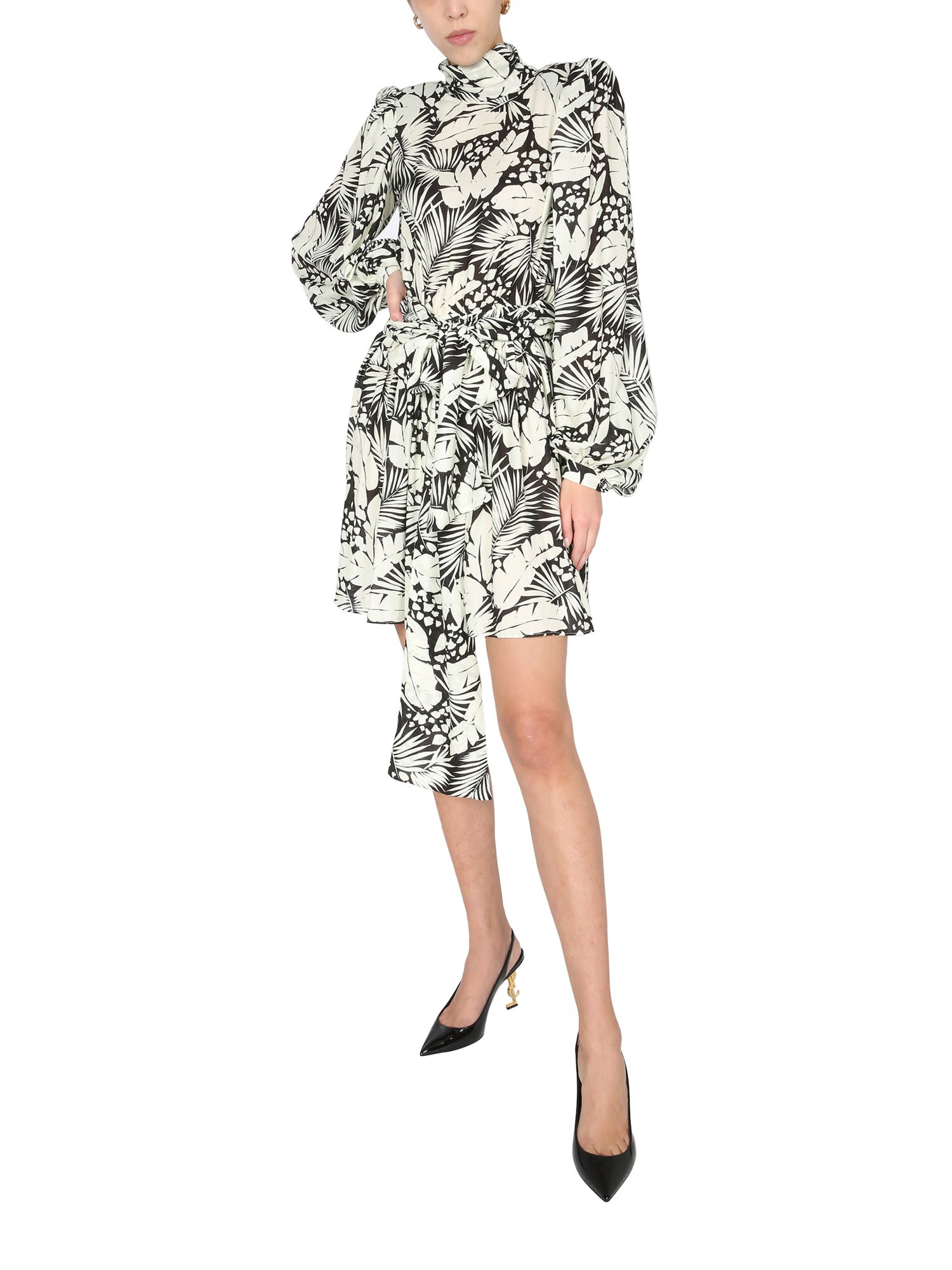 Buy Mini Dress With Band online, shop Saint Laurent with free shipping