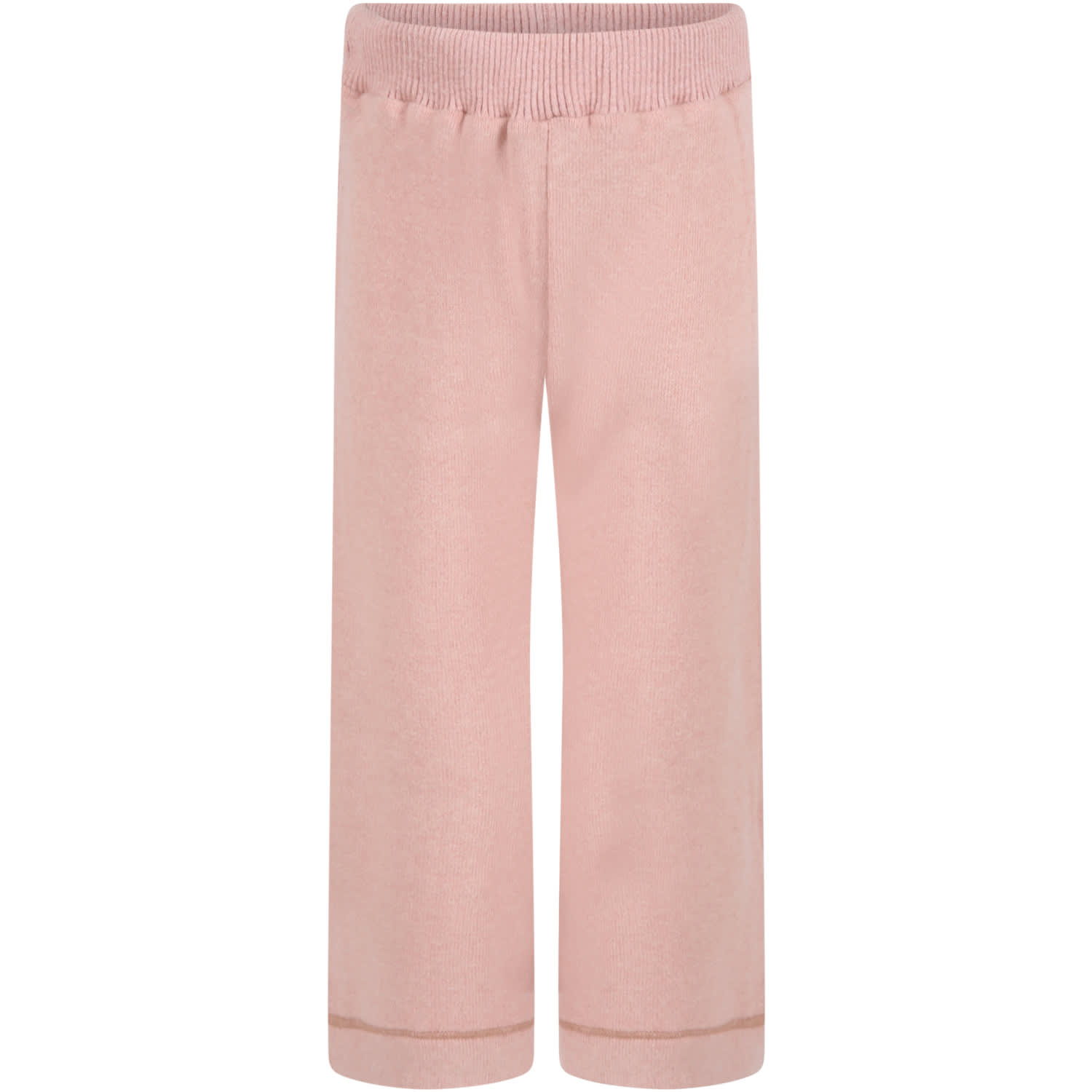 Caffe dOrzo Pink denise Trousers For Girl