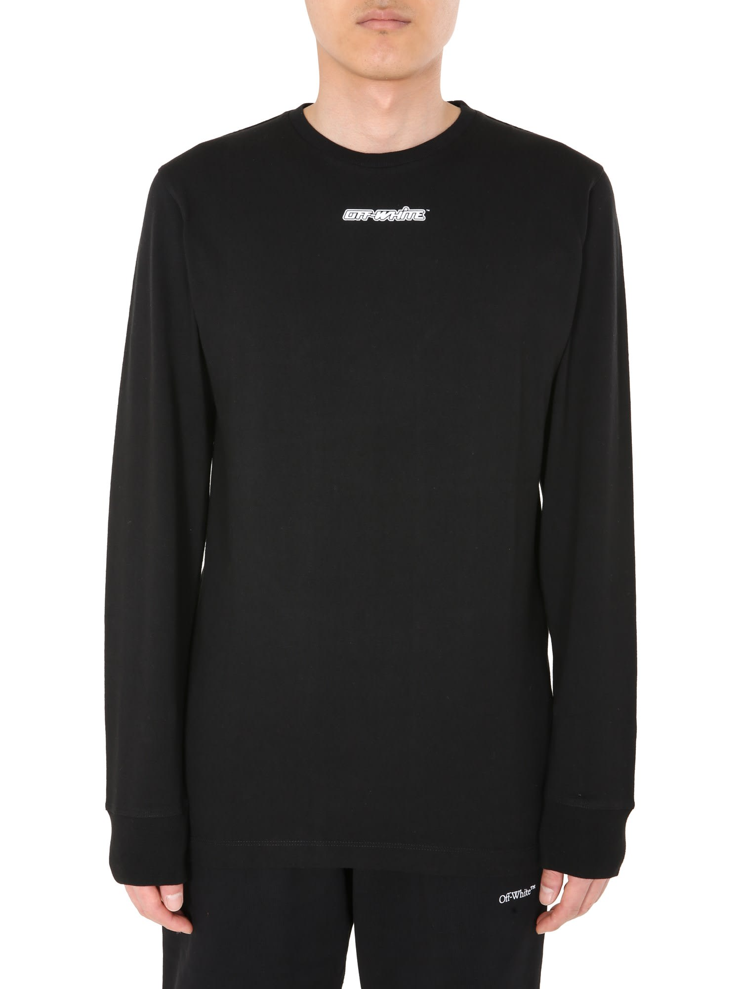 Off-White Round Neck T-shirt