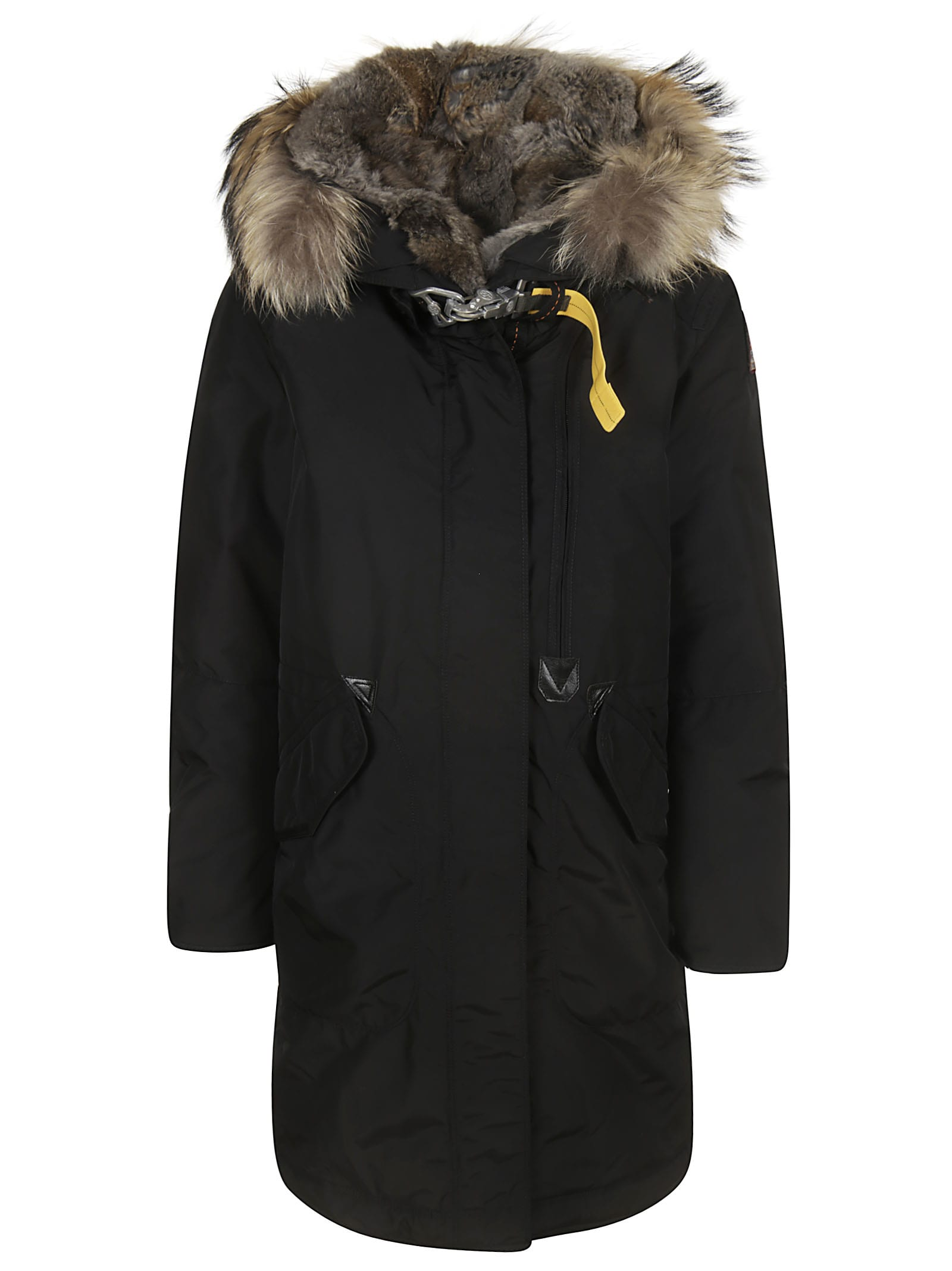 Parajumpers Tank Furry Hood Long Padded Jacket