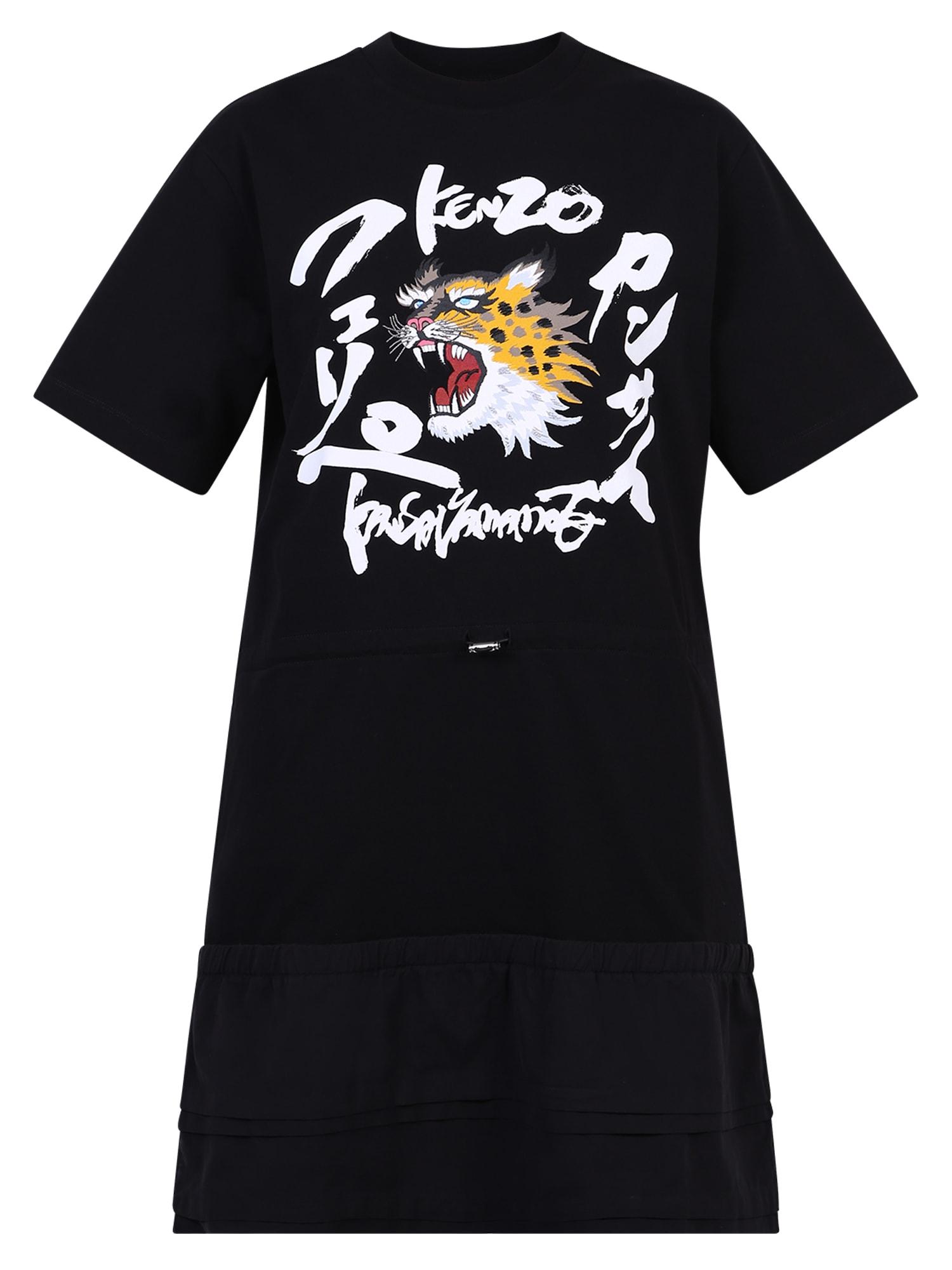 Buy Kenzo T-shirt Dress online, shop Kenzo with free shipping