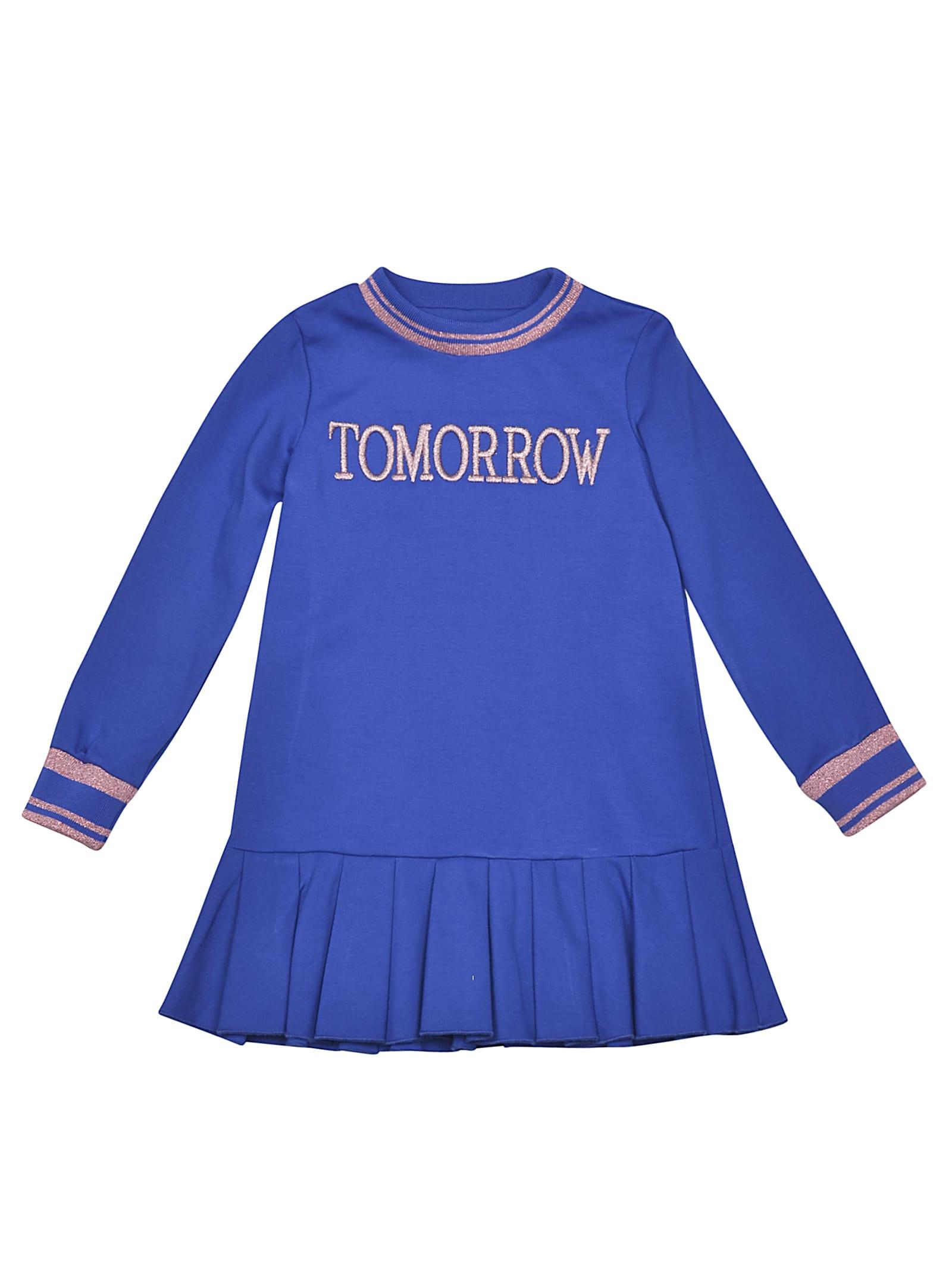 Alberta Ferretti Tomorrow Print Dress