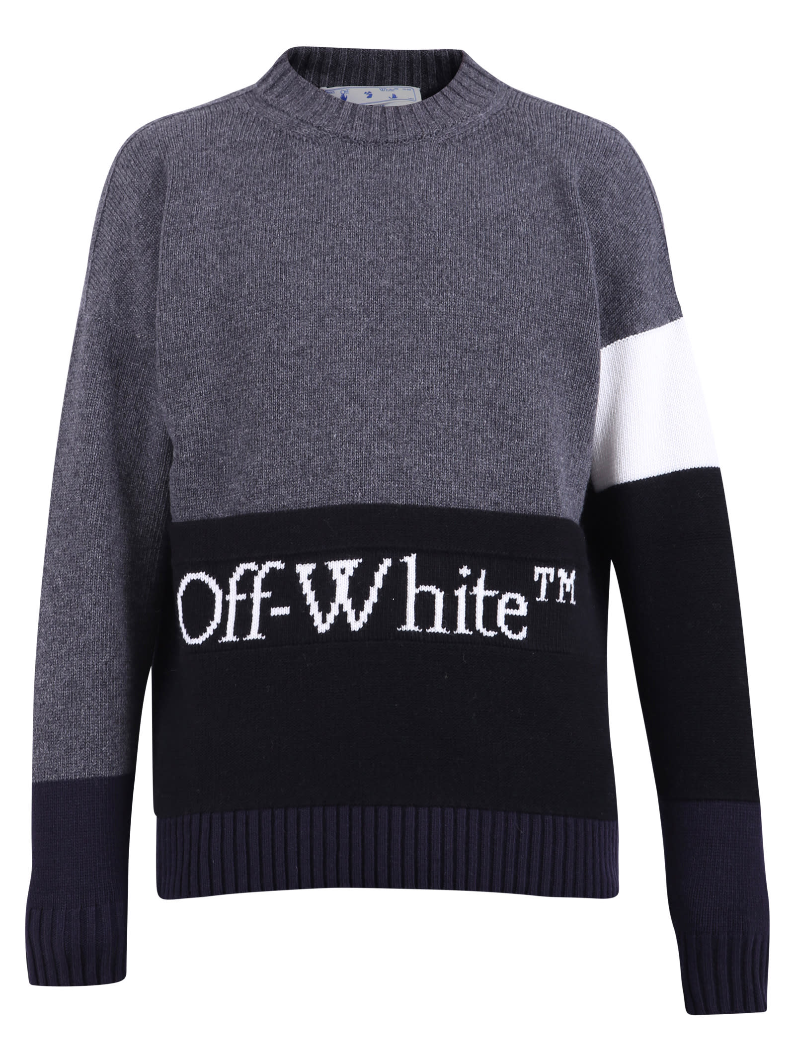 Off-White Wools BRANDED SWEATER