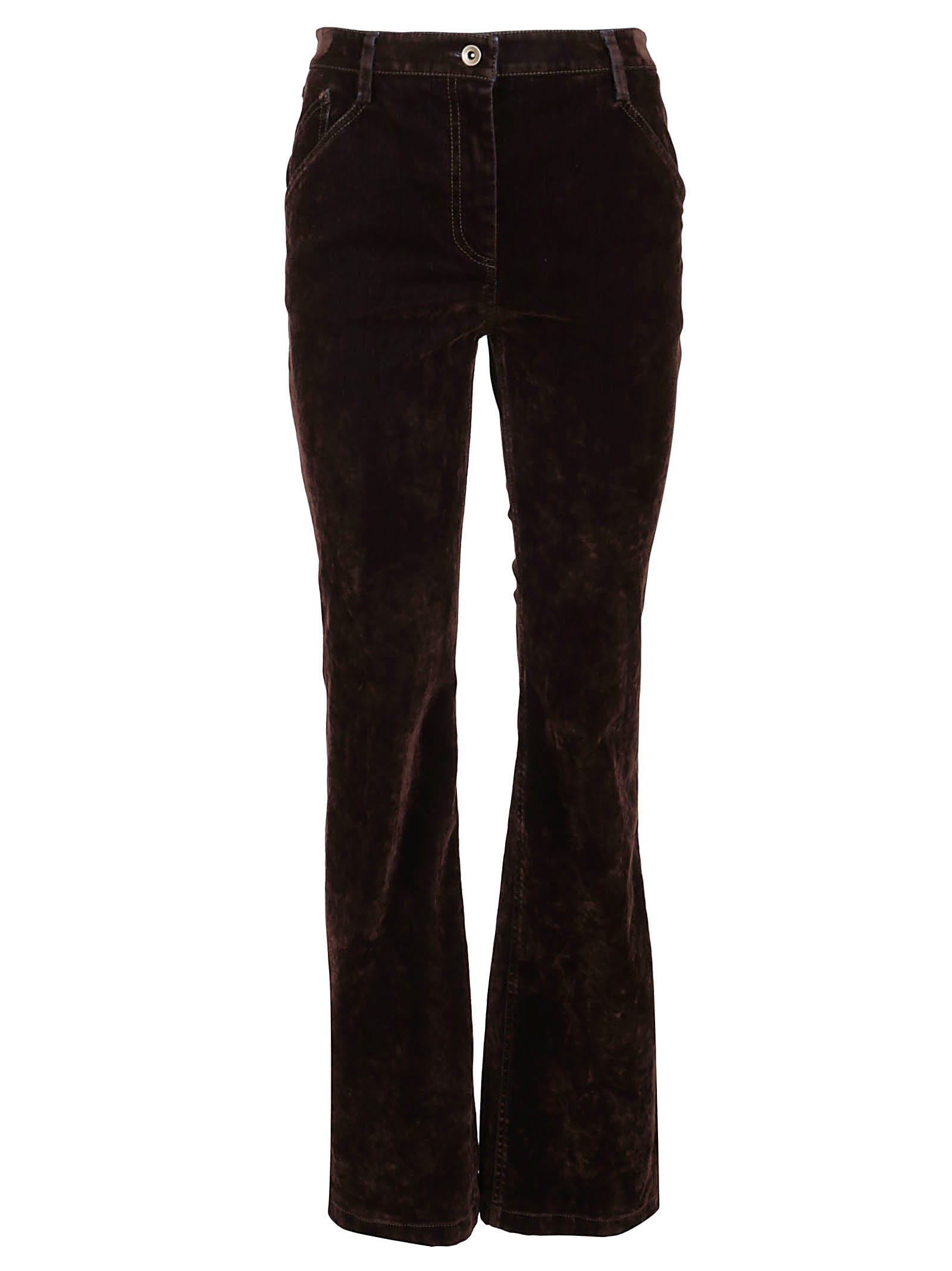 True Royal July Denim Velvet Pants
