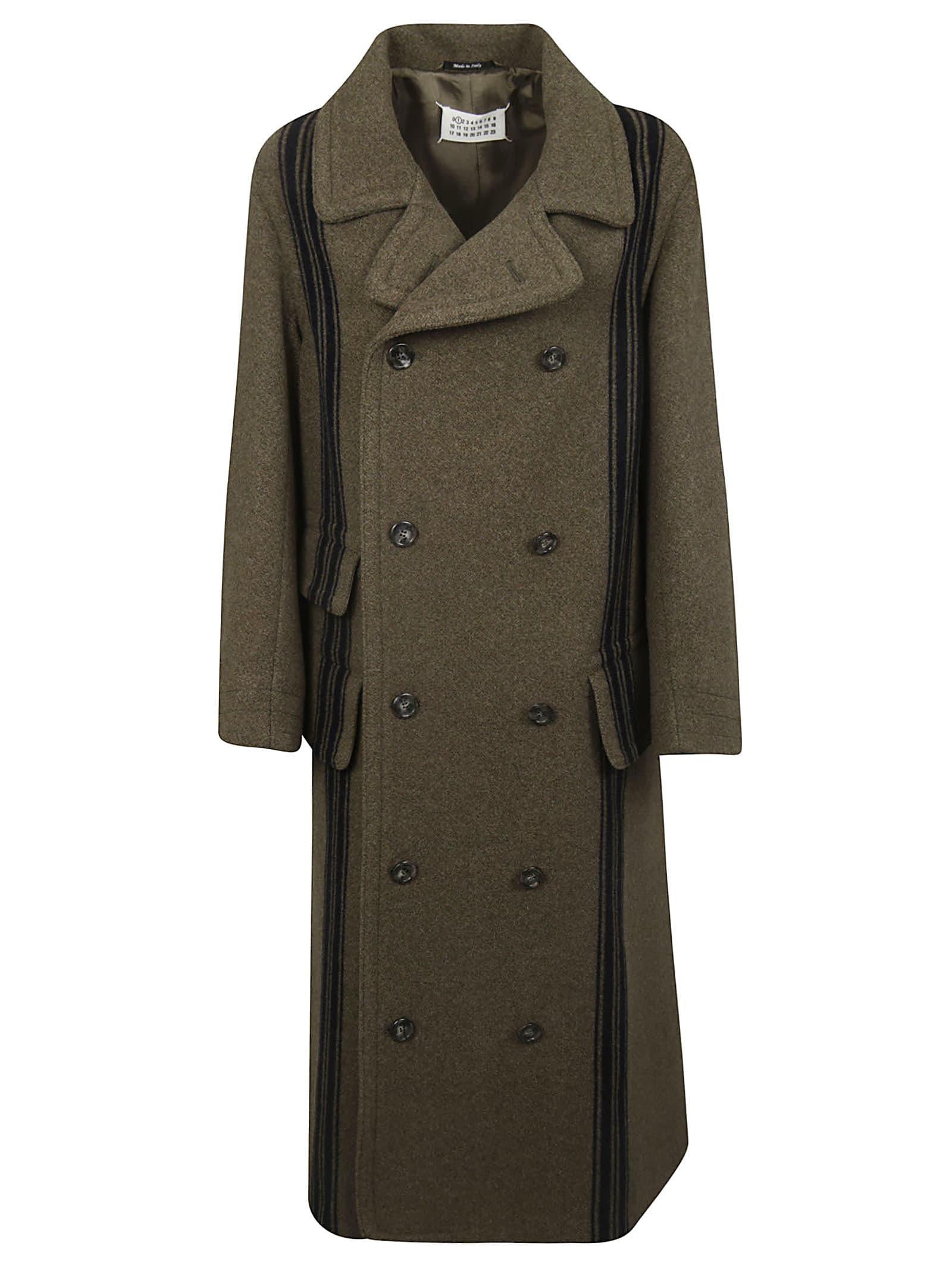 Maison Margiela Double-breasted Military Coat