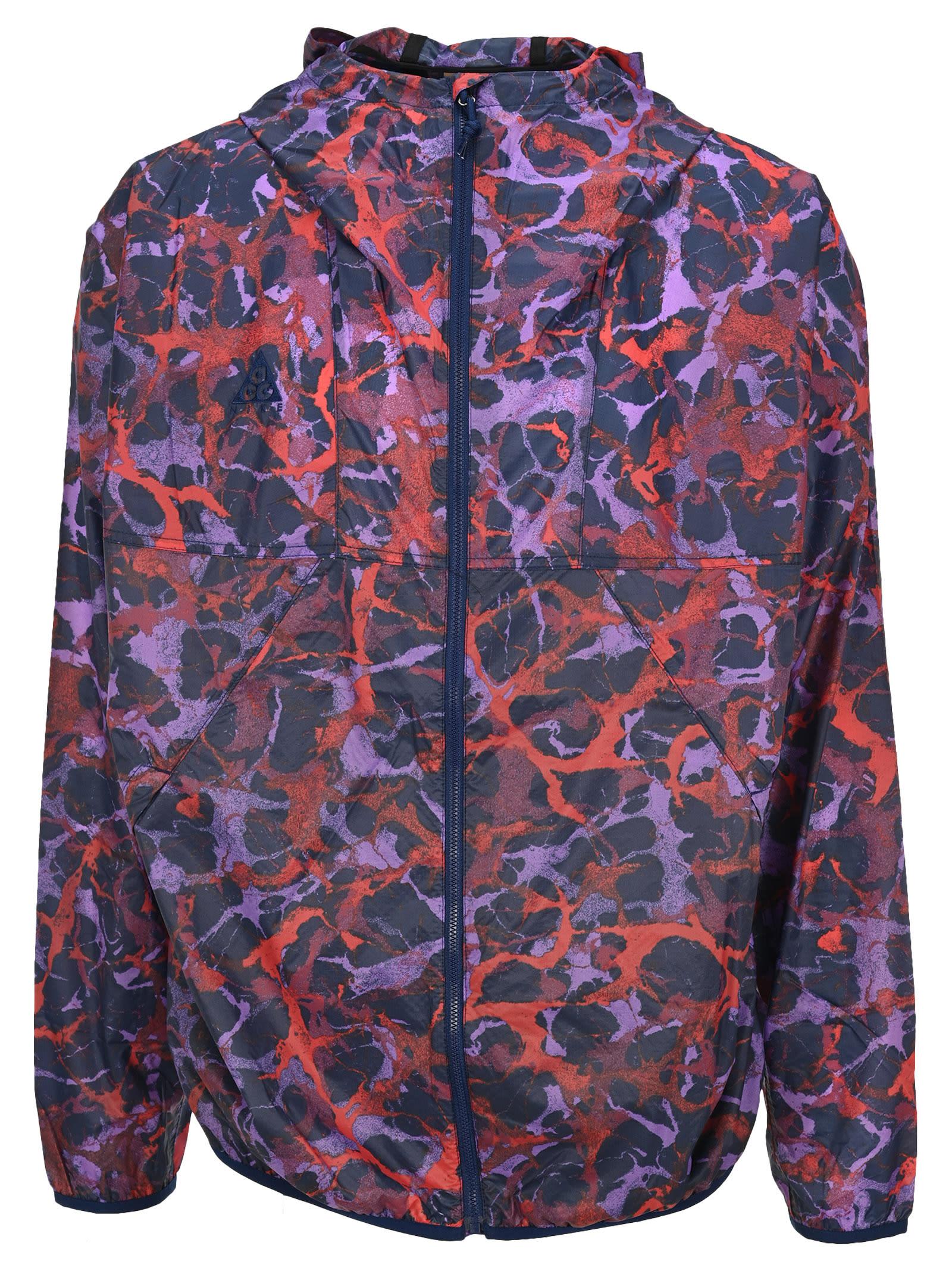 Nike Fa Abstract-print Lightweight Jacket