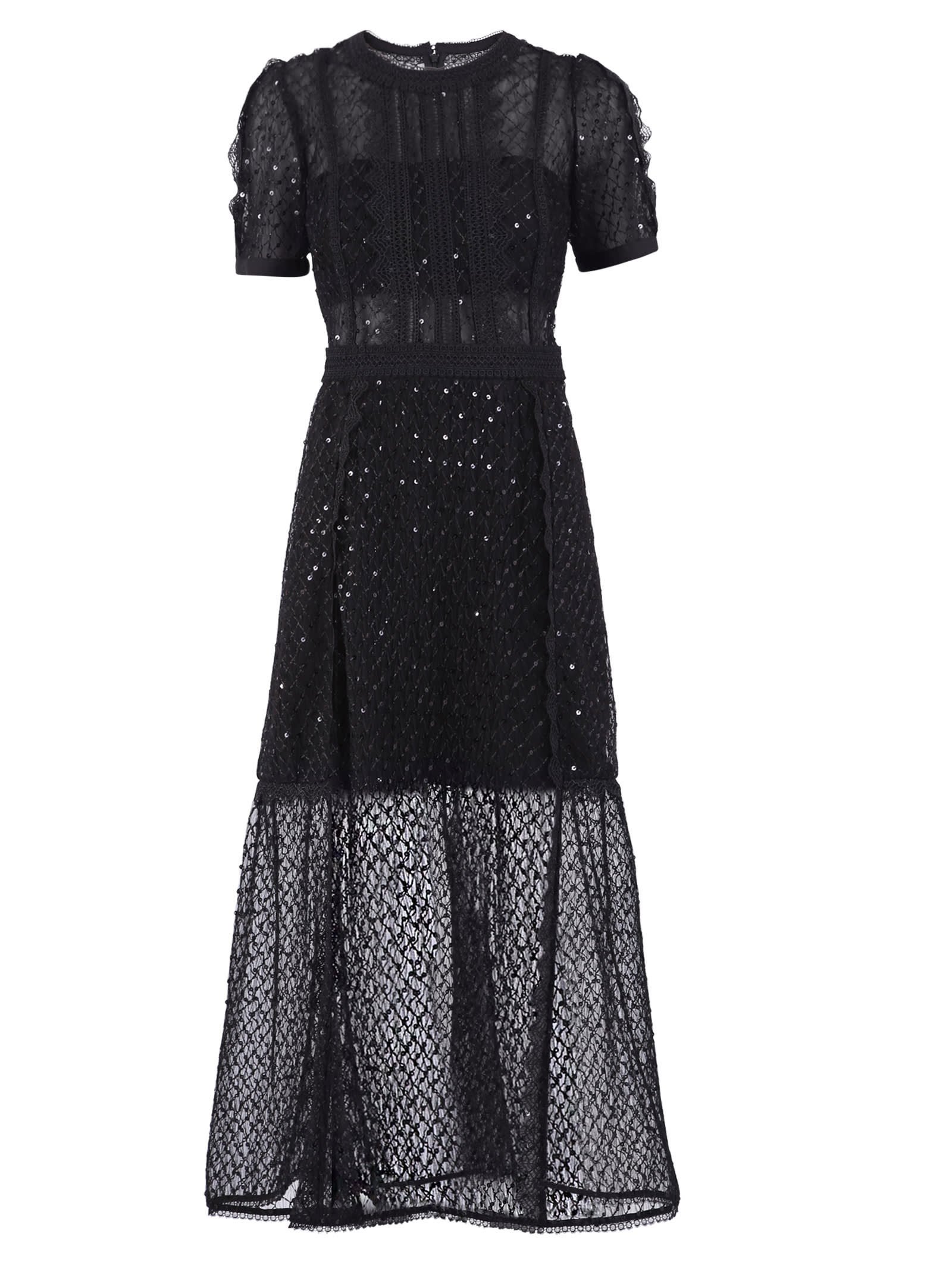 Buy self-portrait Sequined Dress online, shop self-portrait with free shipping
