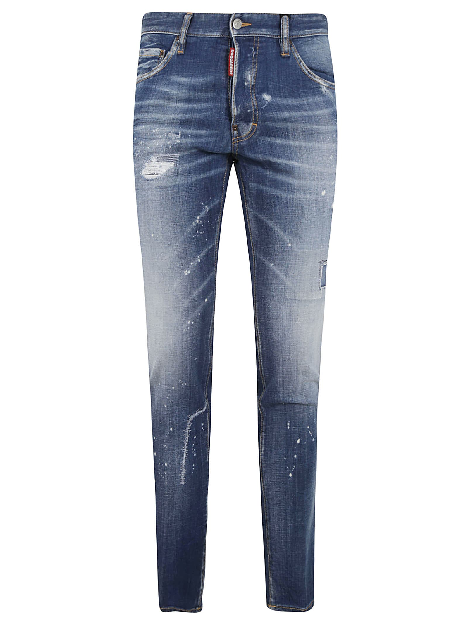 Dsquared2 Skinny Faded Jeans