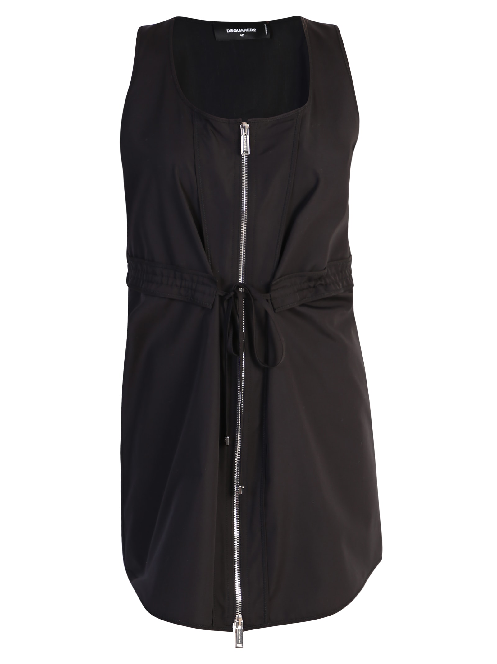 Photo of  Dsquared2 Zipped Dress- shop Dsquared2  online sales