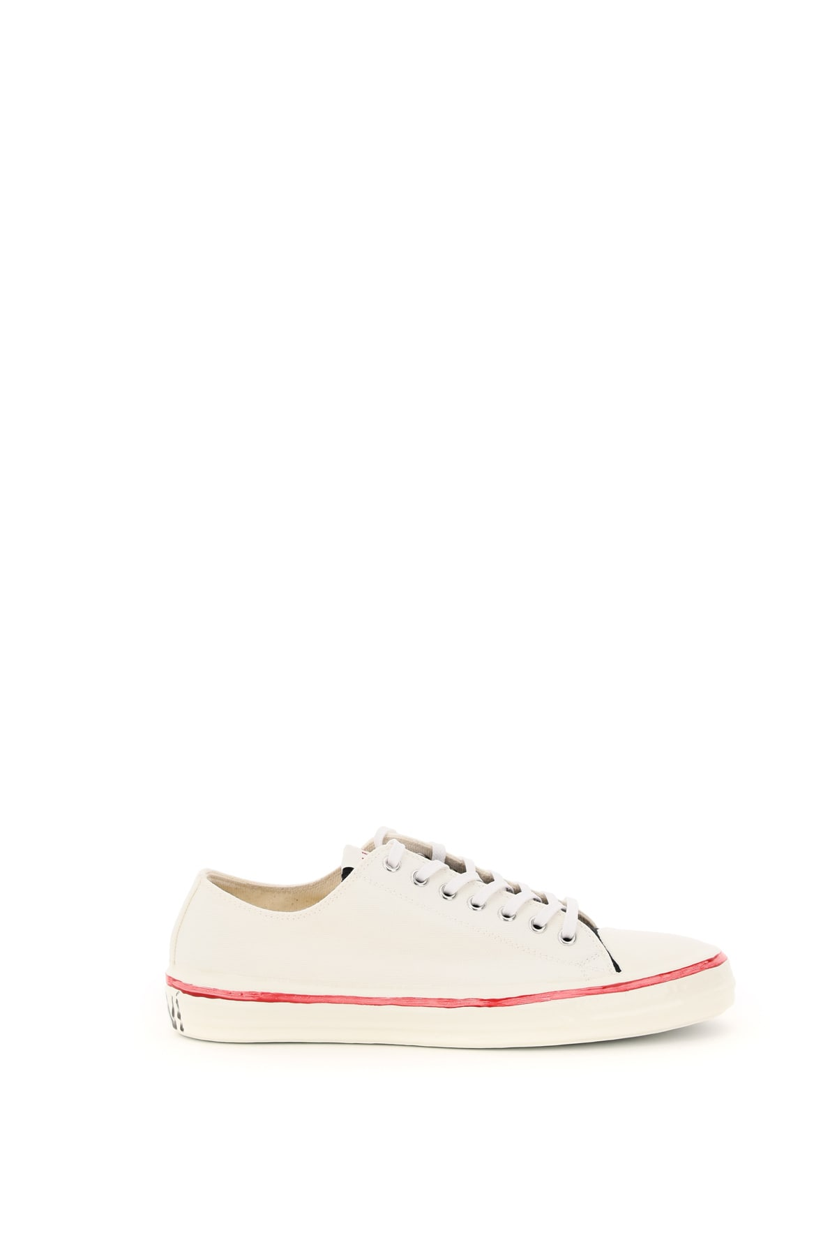 Marni GOOEY CANVAS SNEAKERS GRAFFITI LOGO