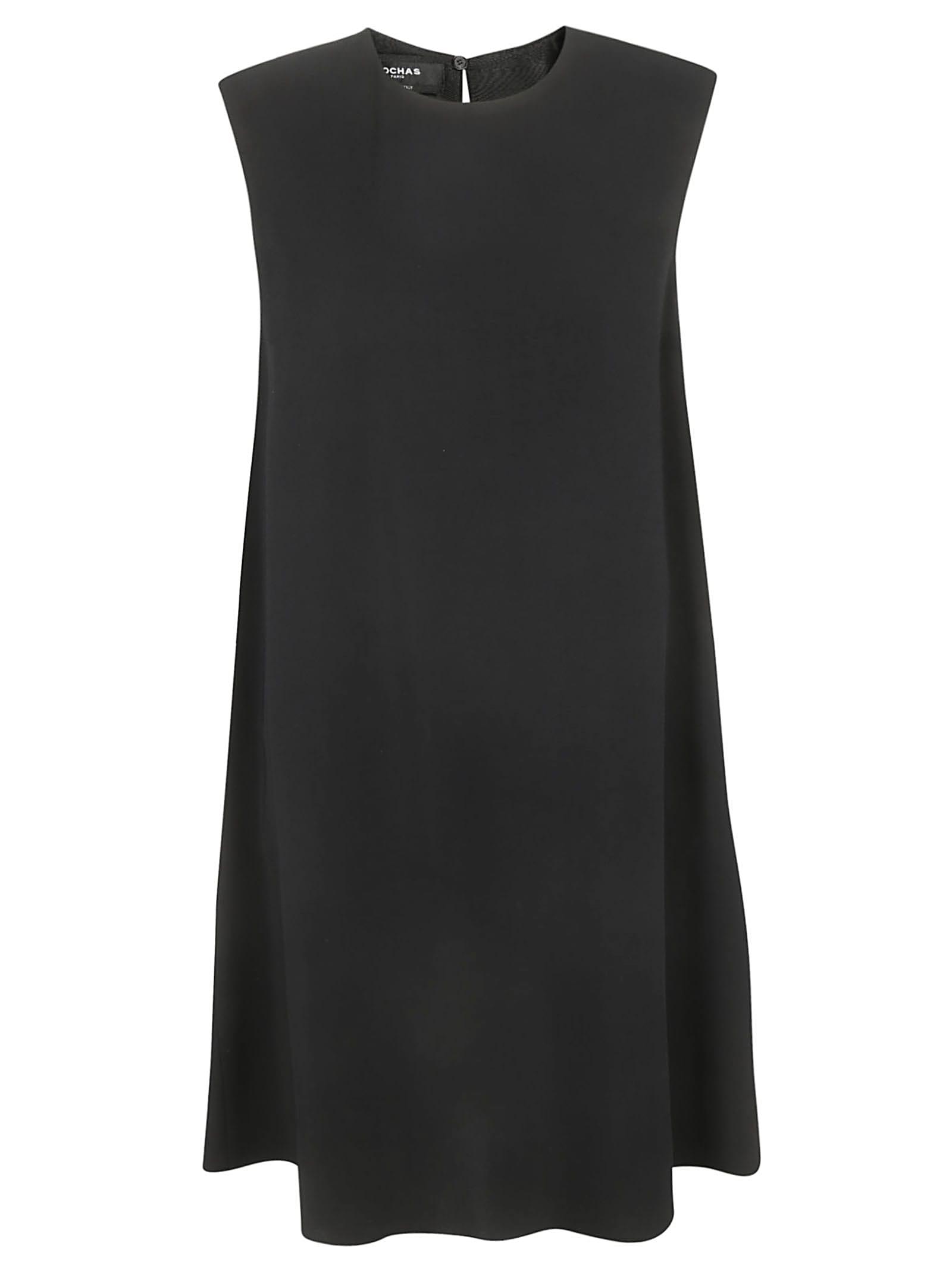 Rochas Classic Sleeveless Short Dress
