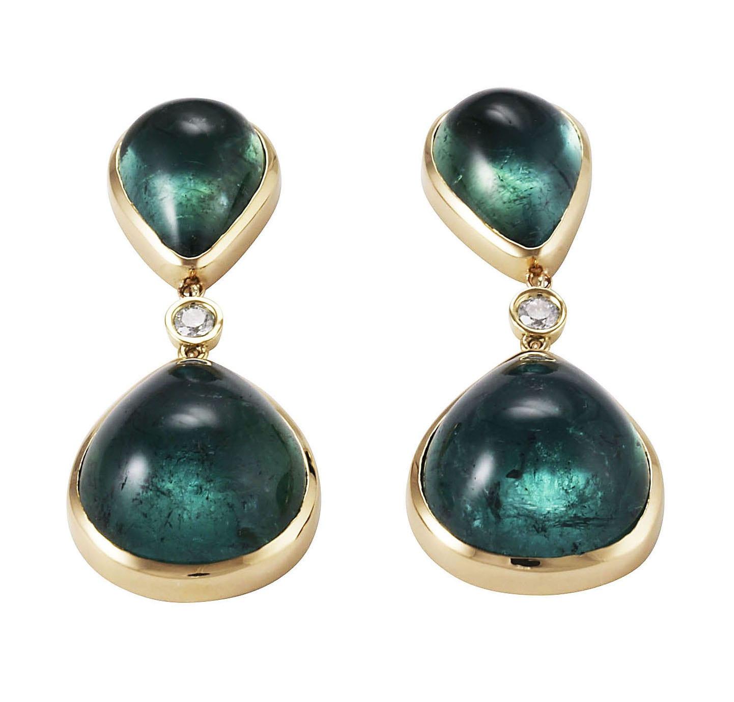 Lo Spazio Eden Rock Verde Earrings