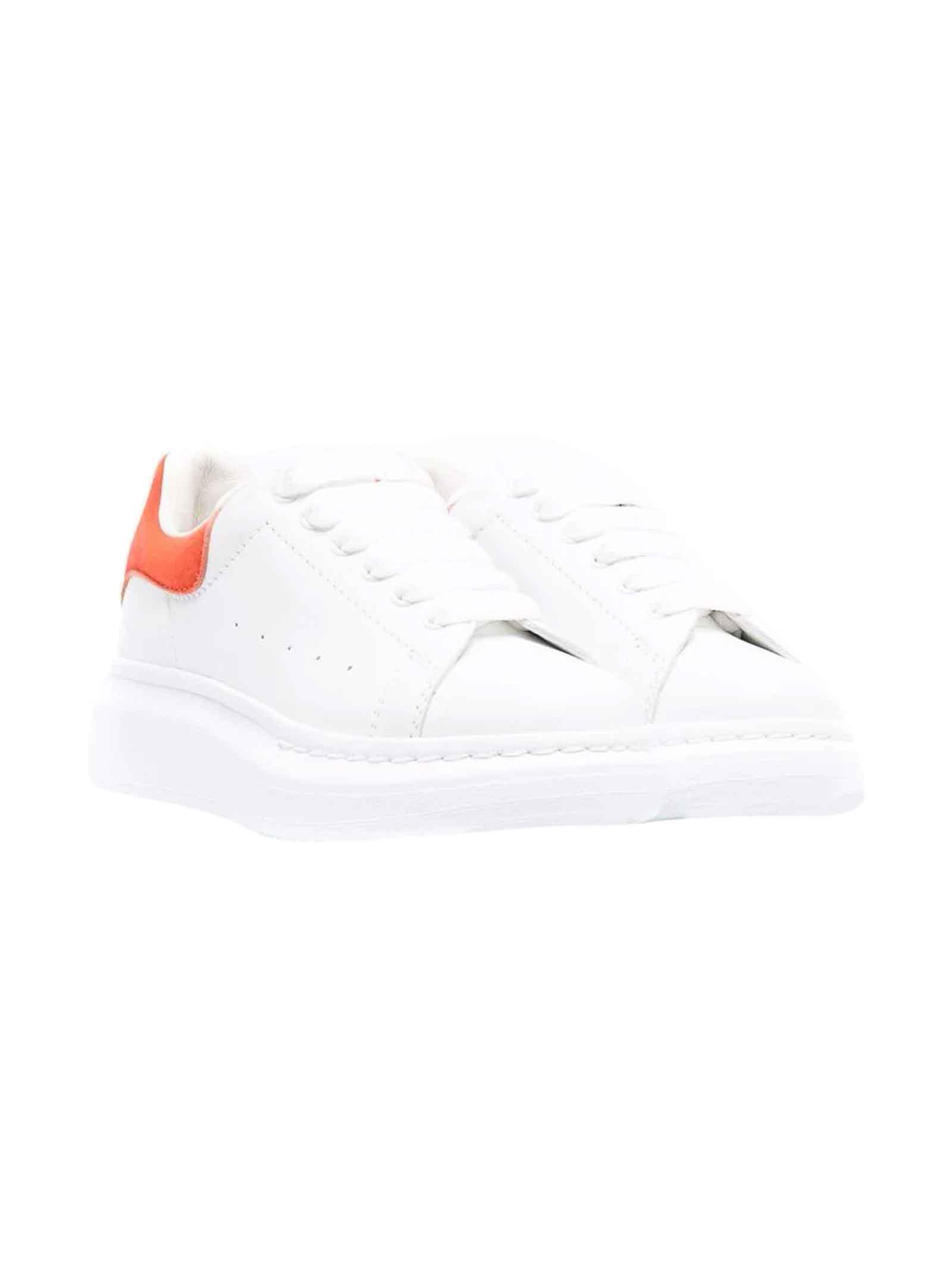 Alexander McQueen White Child Sneakers