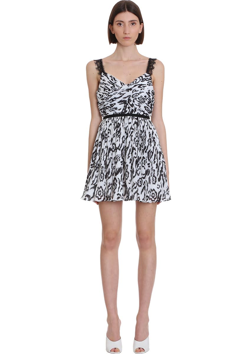 Buy self-portrait Dress In White Polyester online, shop self-portrait with free shipping