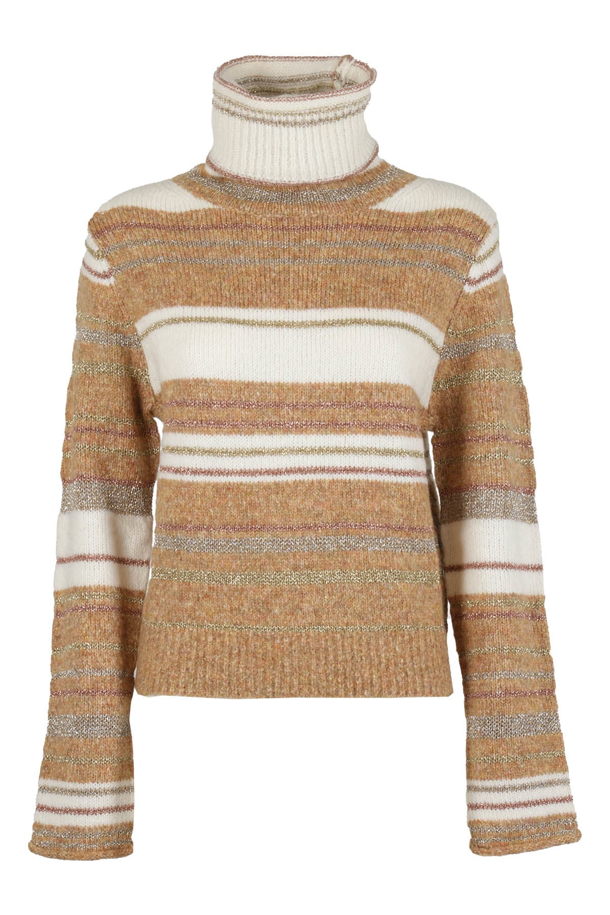 See By Chloé Sweater In Z Bianco Beige