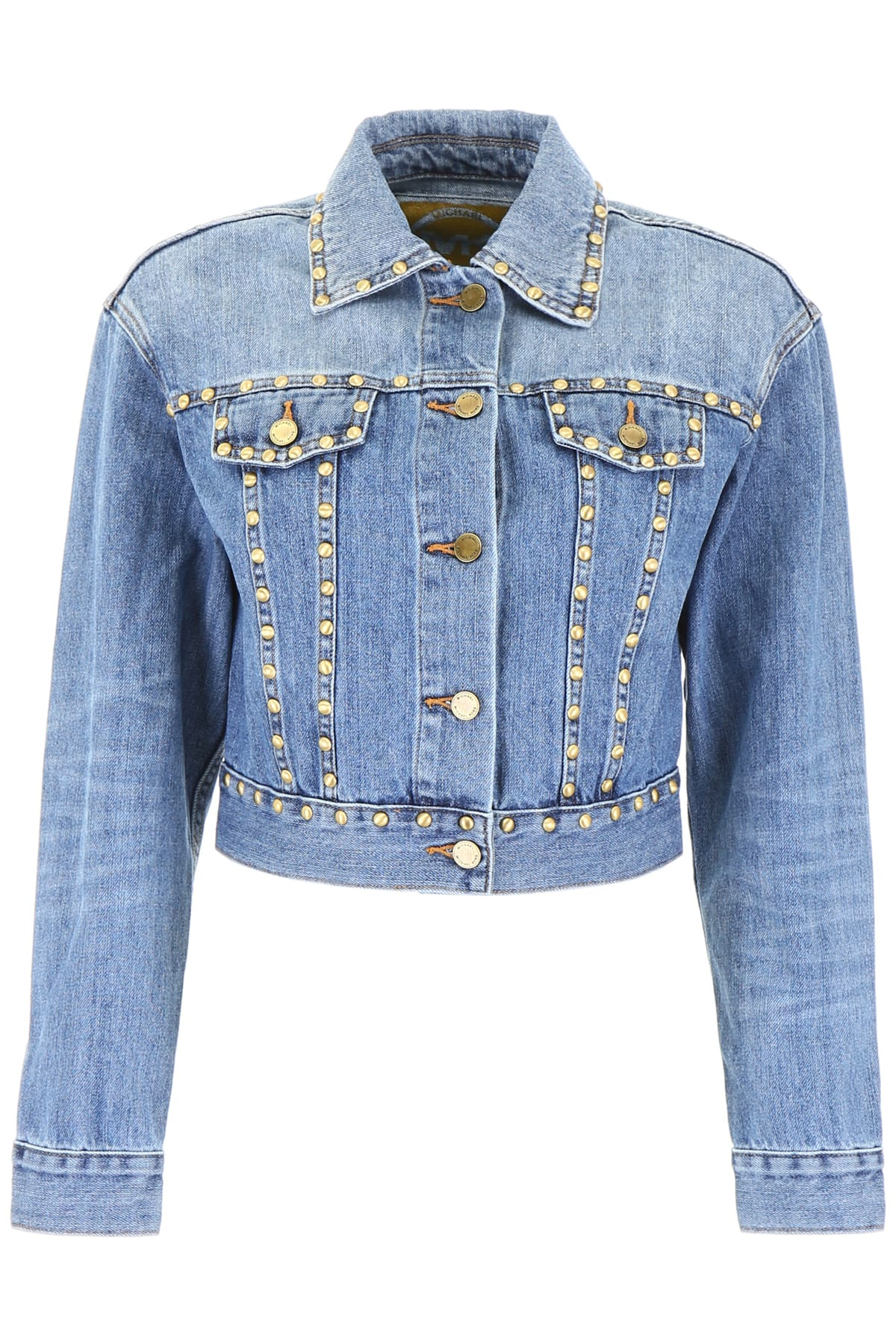 MICHAEL Michael Kors Studded Denim Jacket