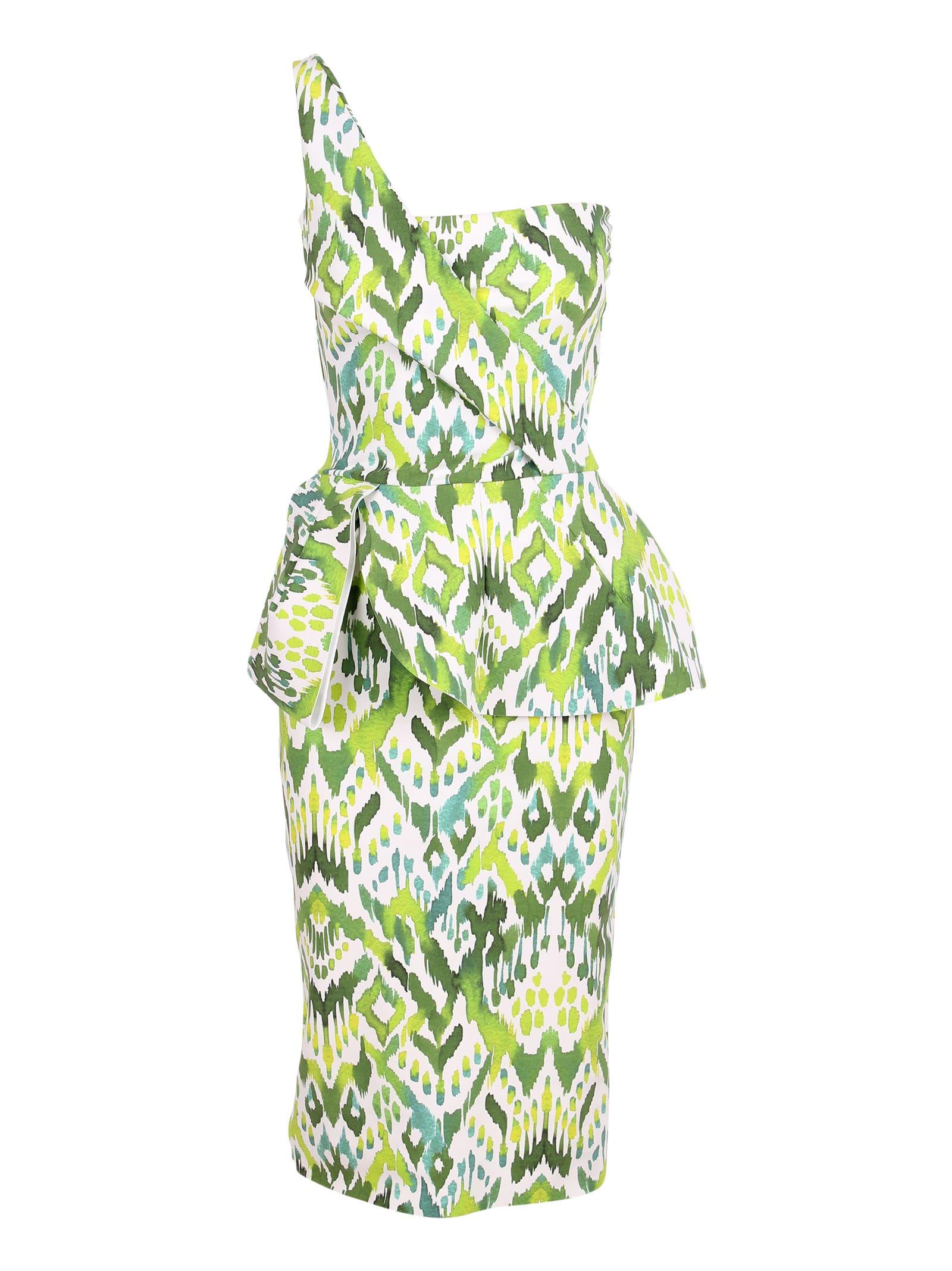 Le Petite Robe Di Chiara Boni chaz Print Polyamide Dress