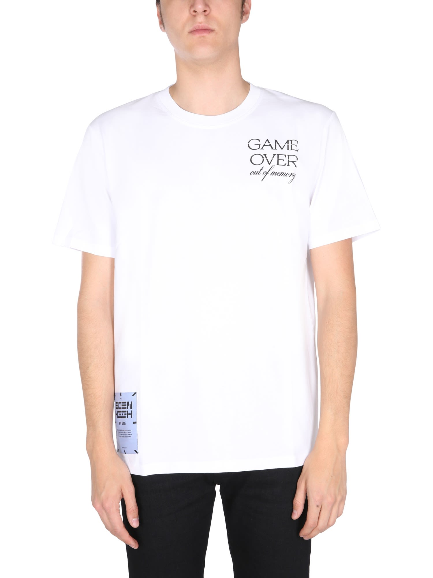 Mcq By Alexander Mcqueen Cottons RELAXED FIT T-SHIRT