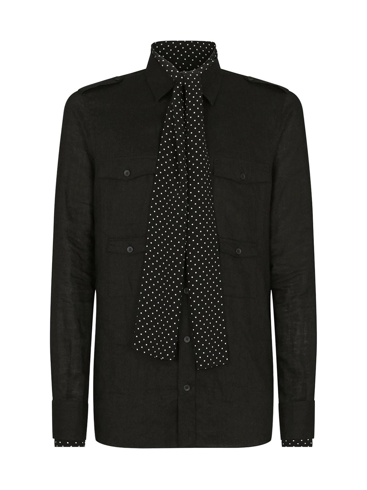 Dolce & Gabbana Shirt In Black