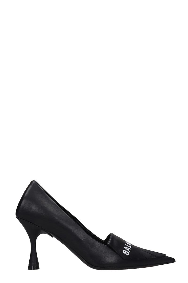 Balenciaga Pumps In Black Leather