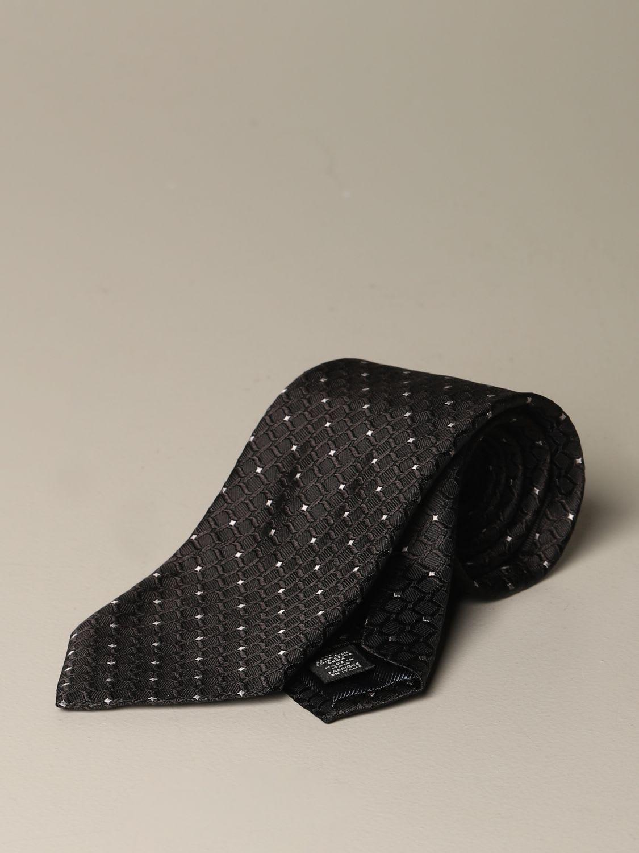 Ermenegildo Zegna Tie Ermenegildo Zegna Silk Tie With Pattern