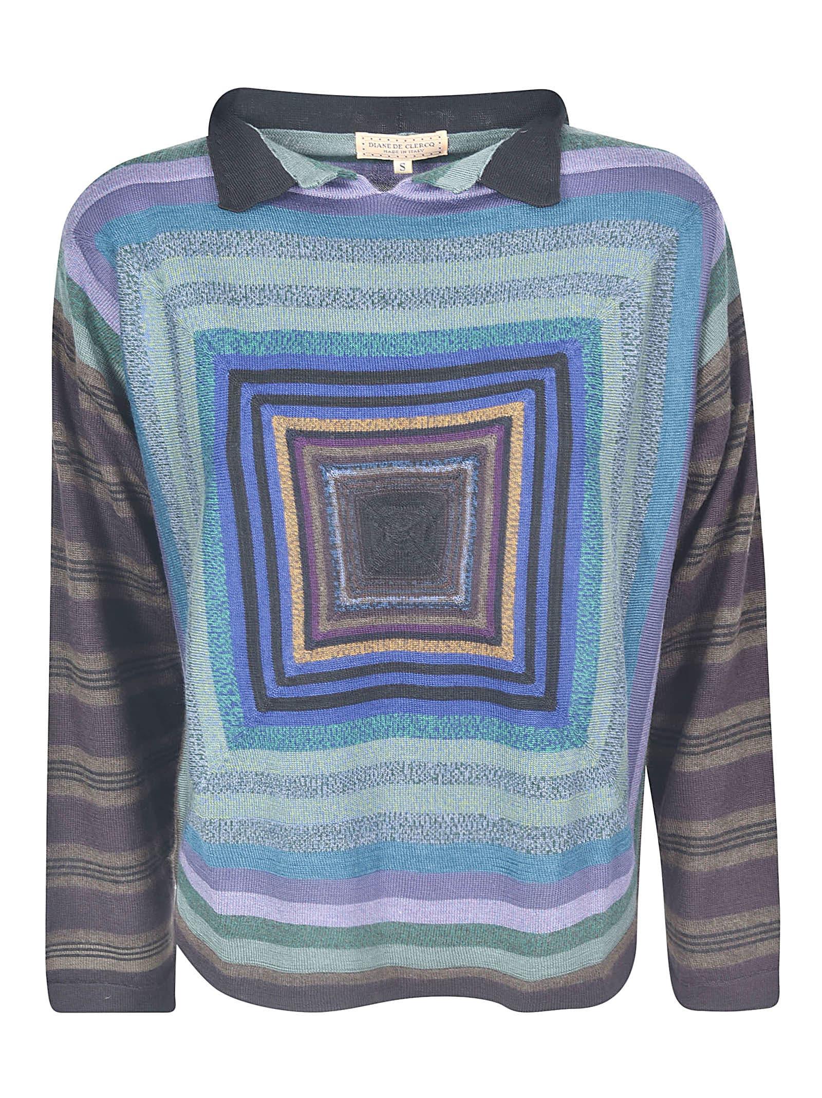 Stripe Patterned Sweater