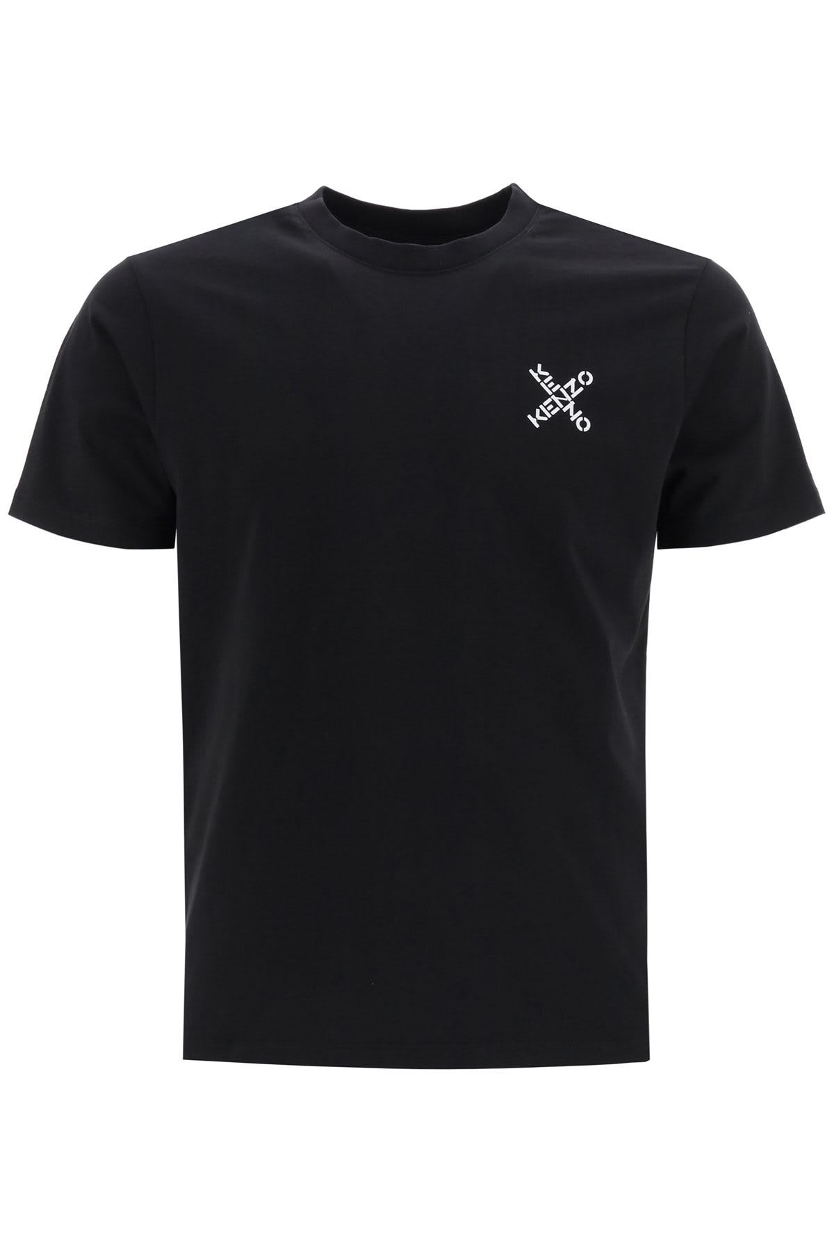 Kenzo T-SHIRT WITH CROSSED LOGO