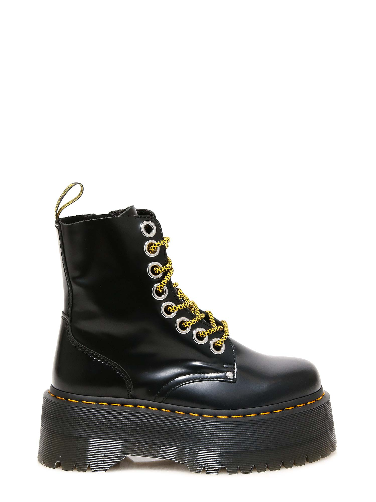 Best price on the market at italist | Dr. Martens Dr. Martens Jadon Max Ankle Boots