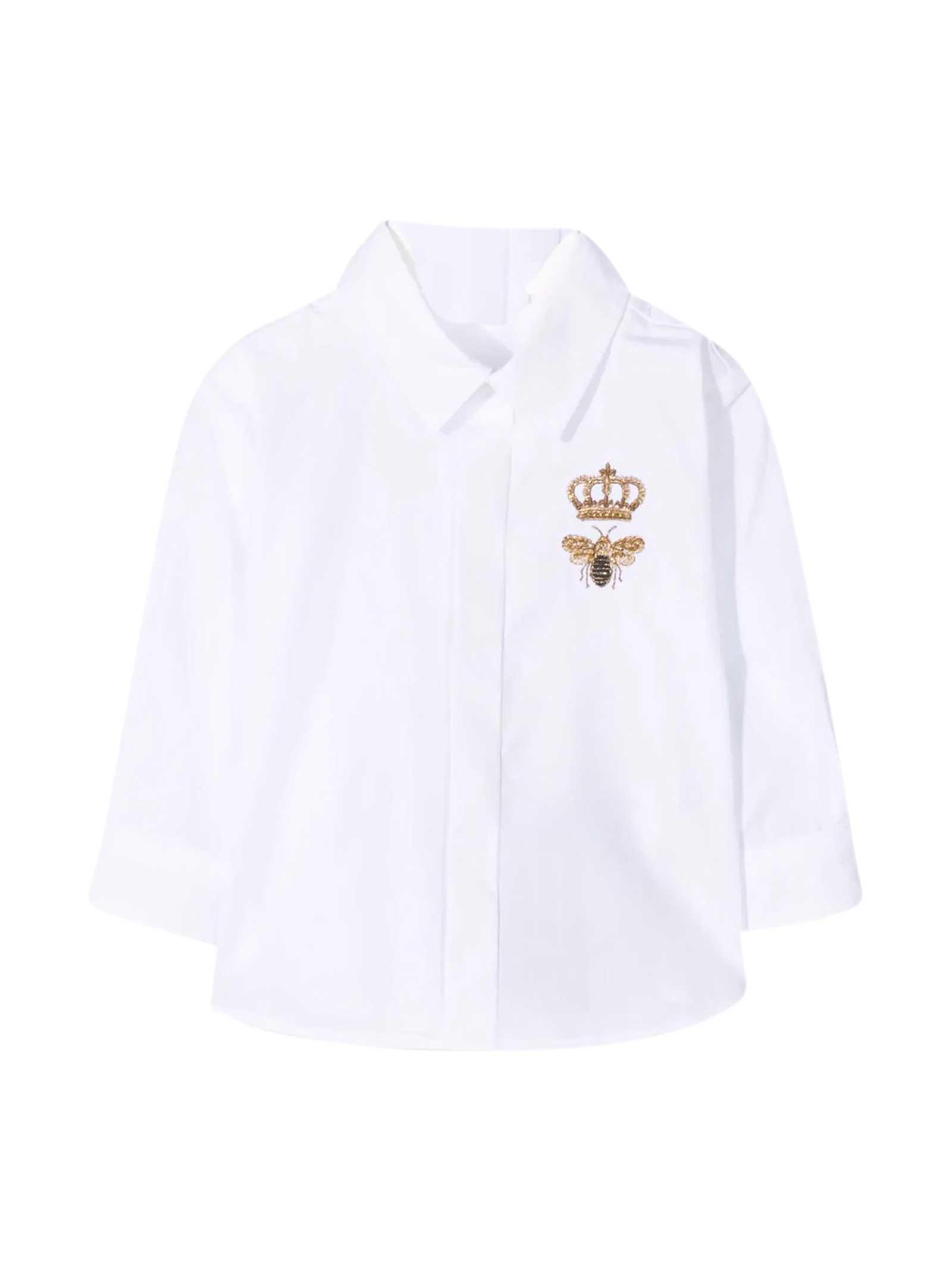 Dolce & Gabbana Shirts WHITE SHIRT