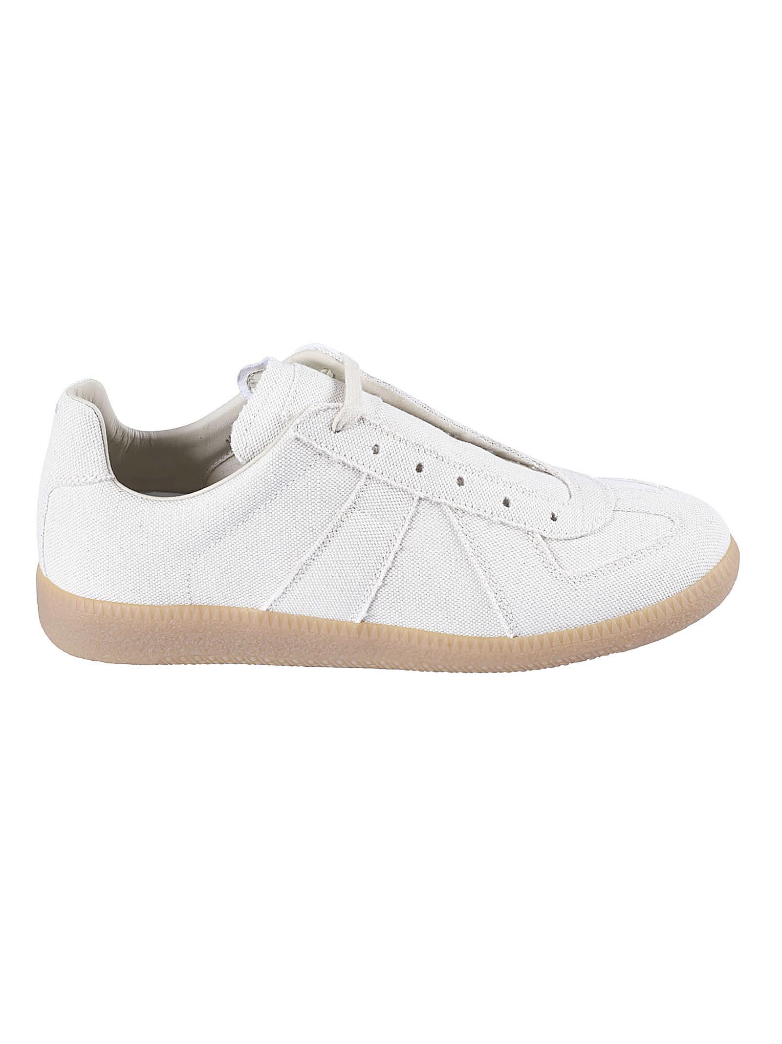 Buy Maison Margiela Classic Mesh Sneakers online, shop Maison Margiela shoes with free shipping