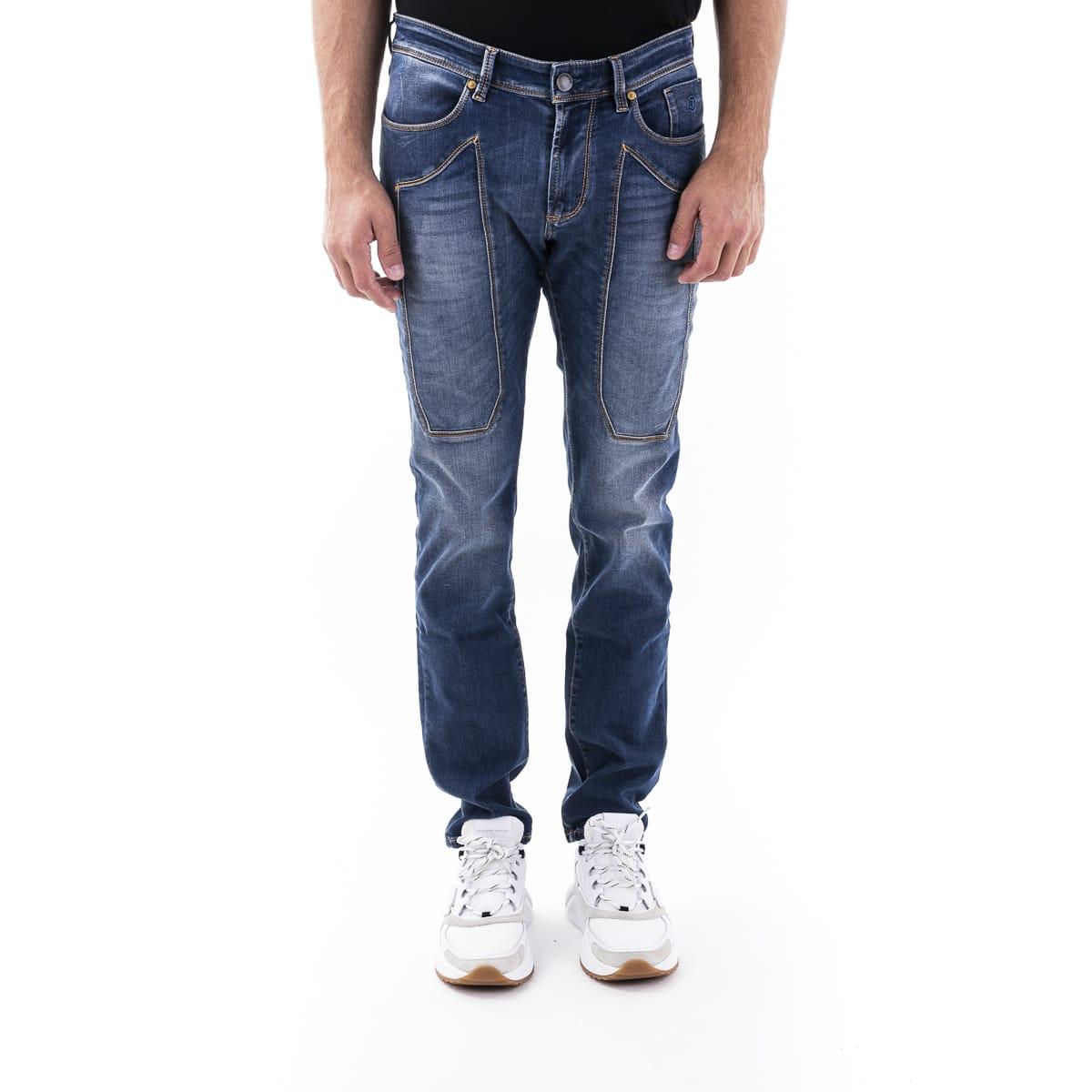 Cotton Blend Jeans Jeckerson
