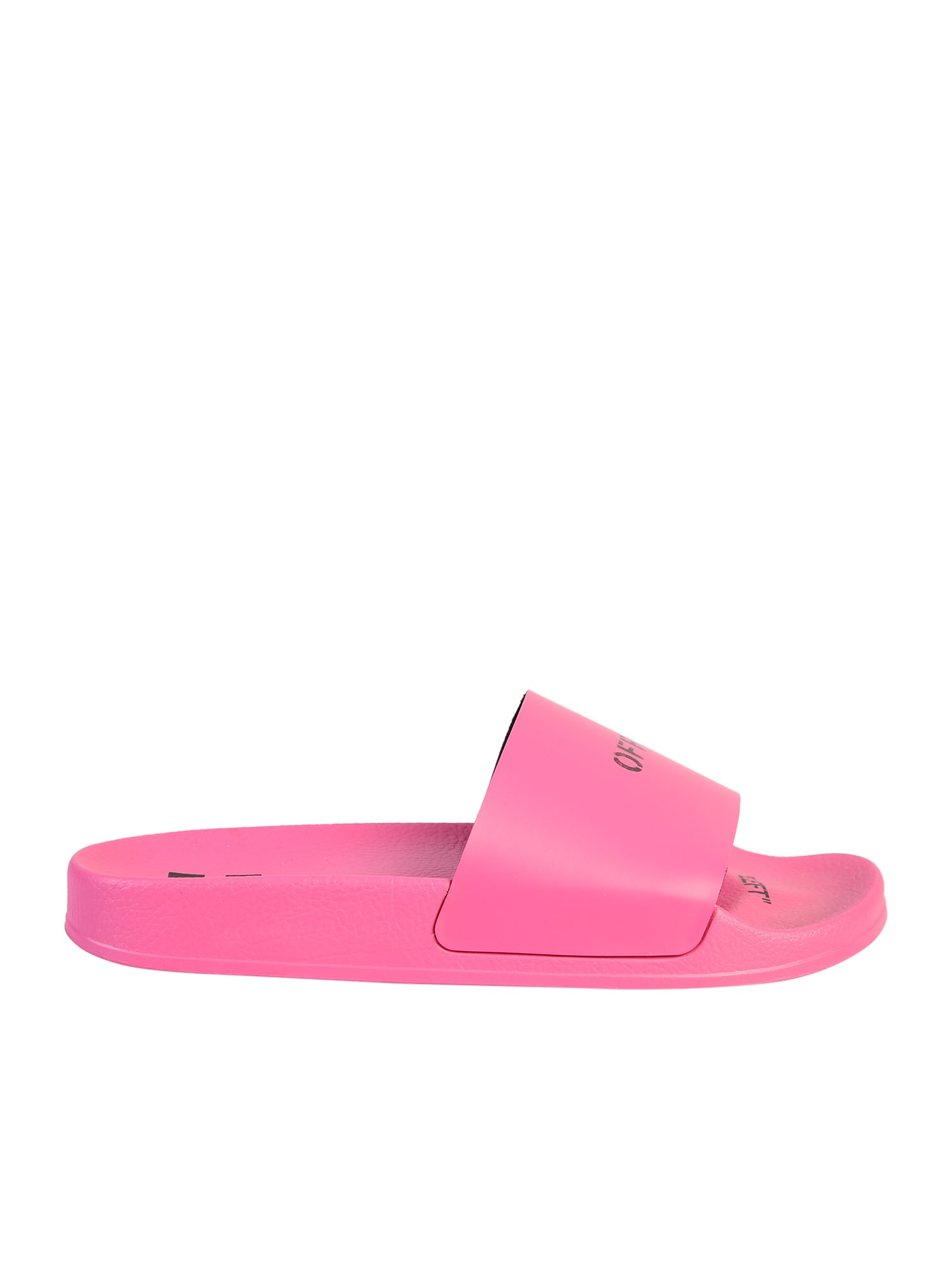 Off-White PRINTED SLIDE SANDALS