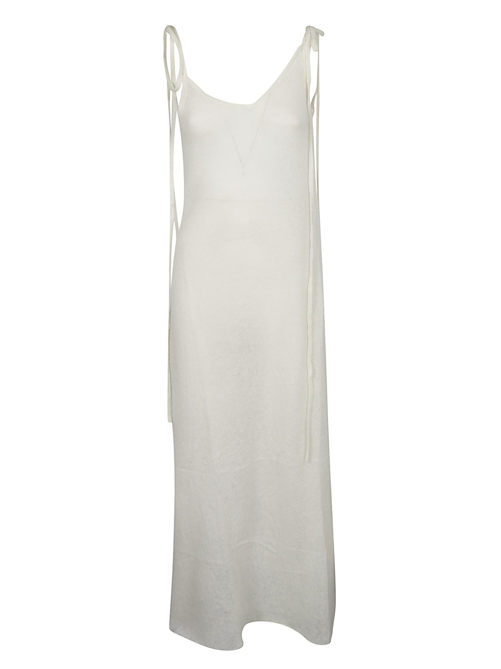 Alanui Eternal Knitted Slip Dress
