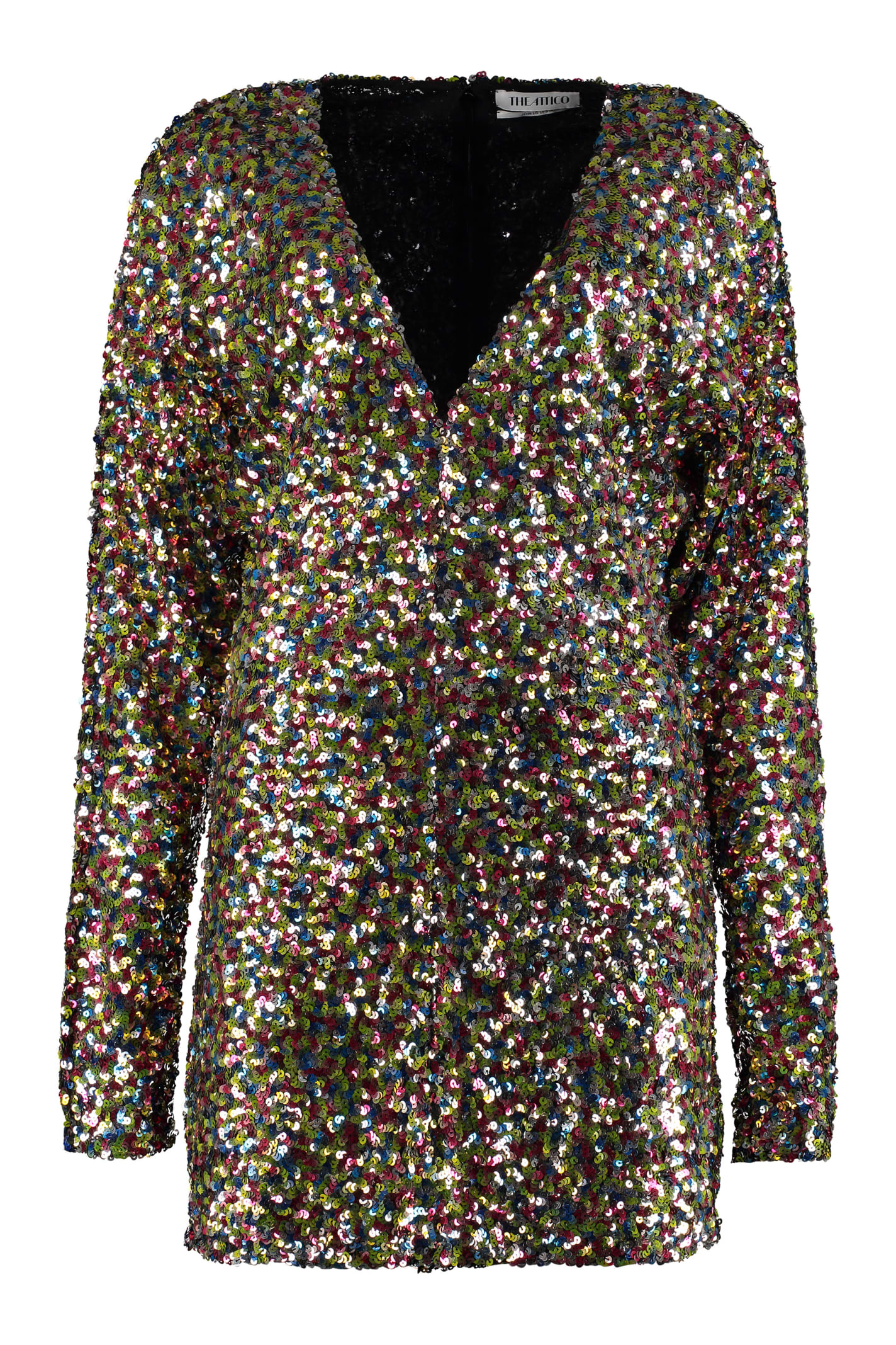 Buy The Attico Sequined Mini Dress online, shop The Attico with free shipping