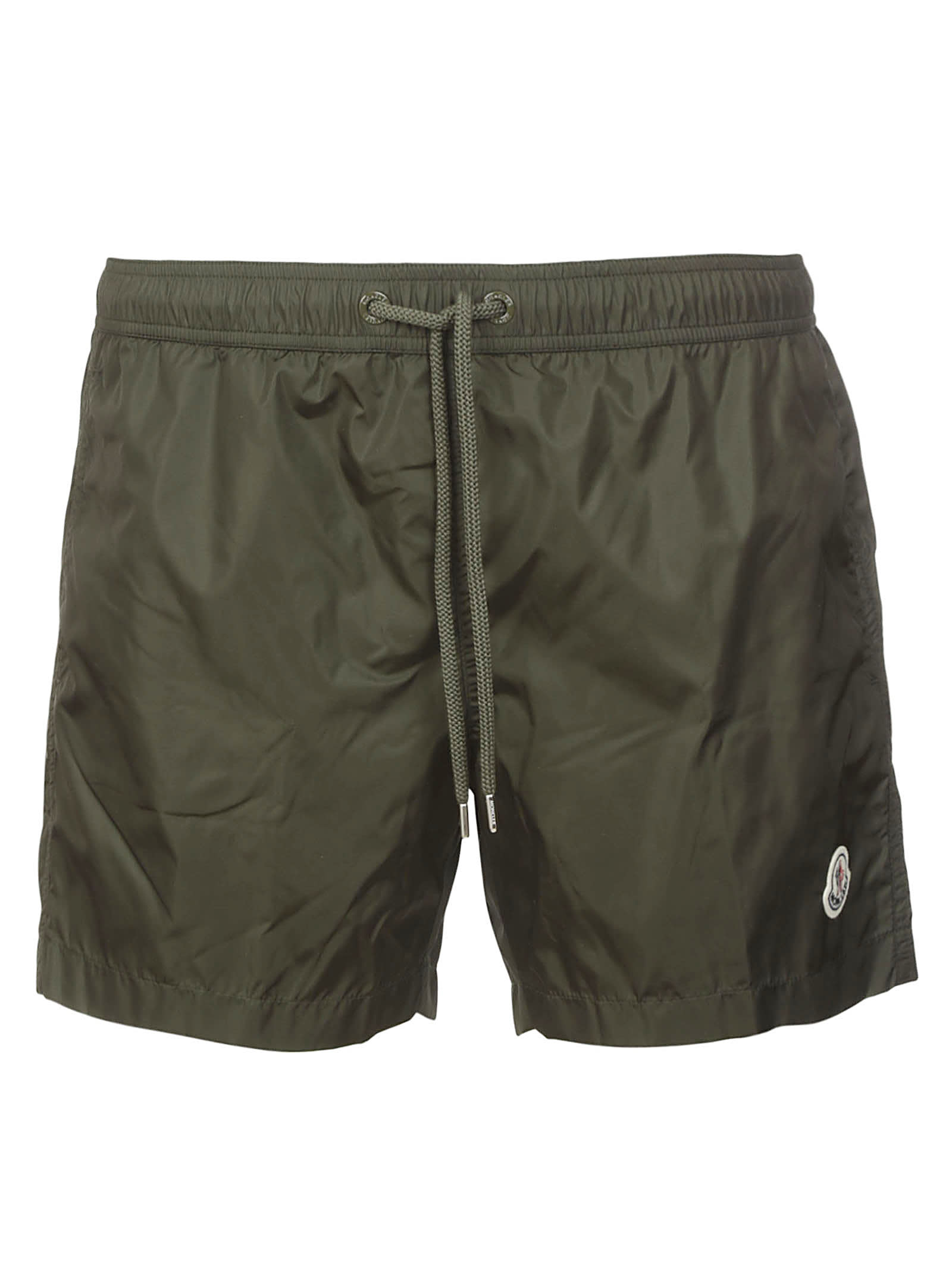 Moncler LOGO PATCHED DRAWSTRING WAIST SWIM SHORTS