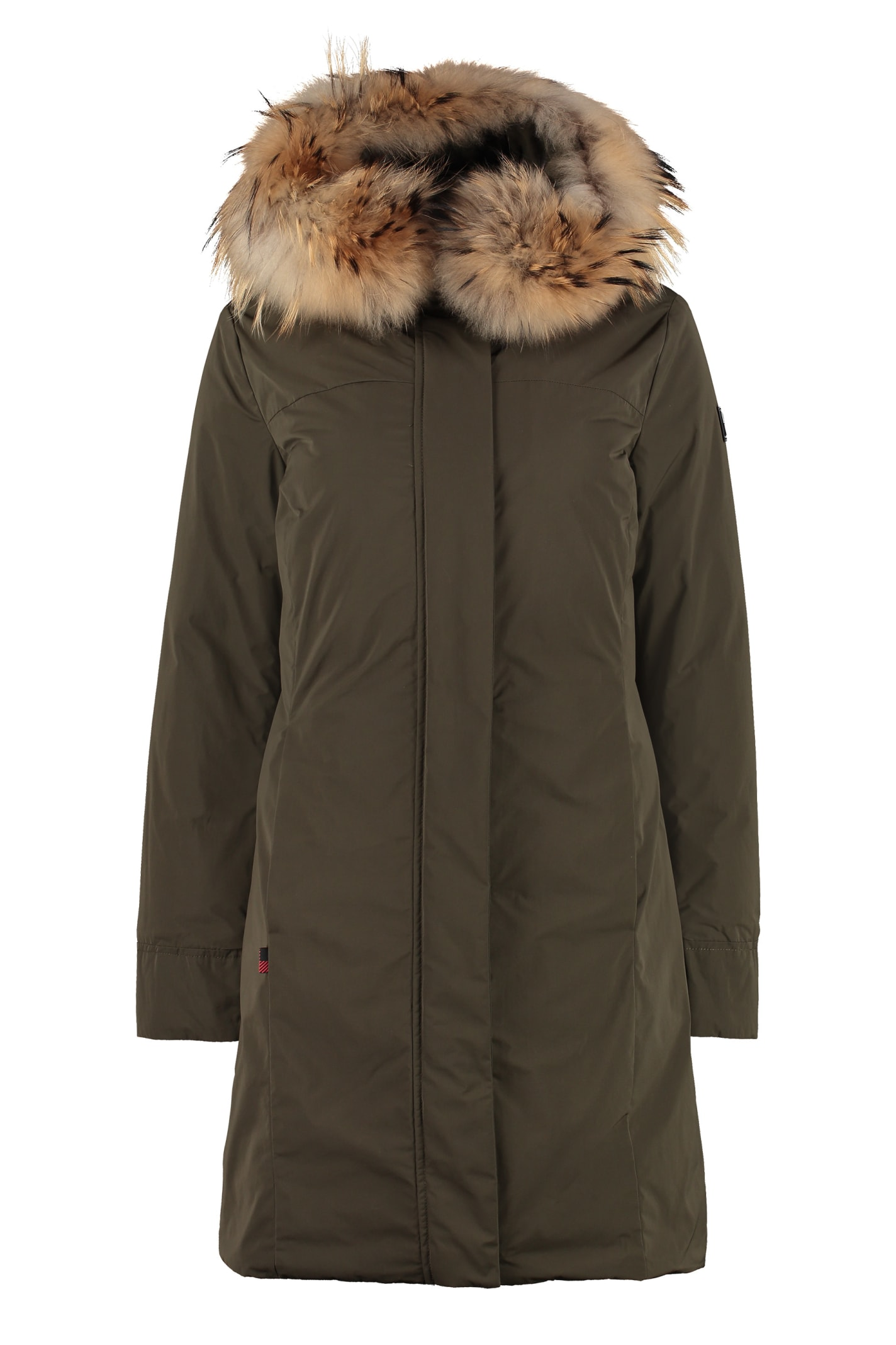 Woolrich Luxury Boulder Parka With Fur Trimmed Hood